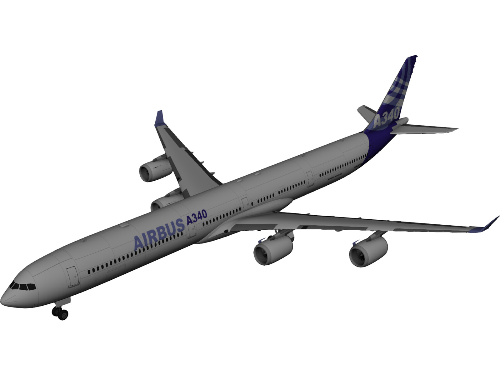 Airbus A340-600 Airliner