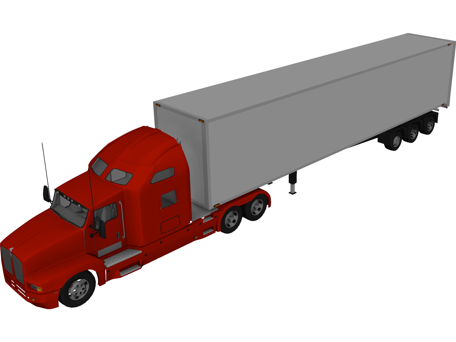 Kenworth T600 with Trailer