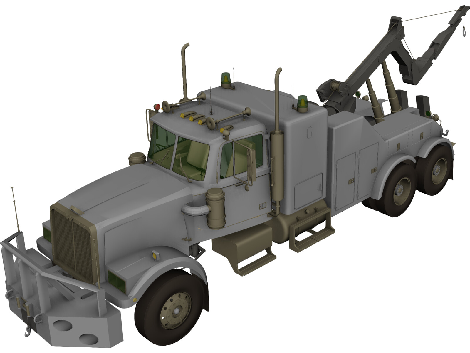 Wreck Recovery Truck
