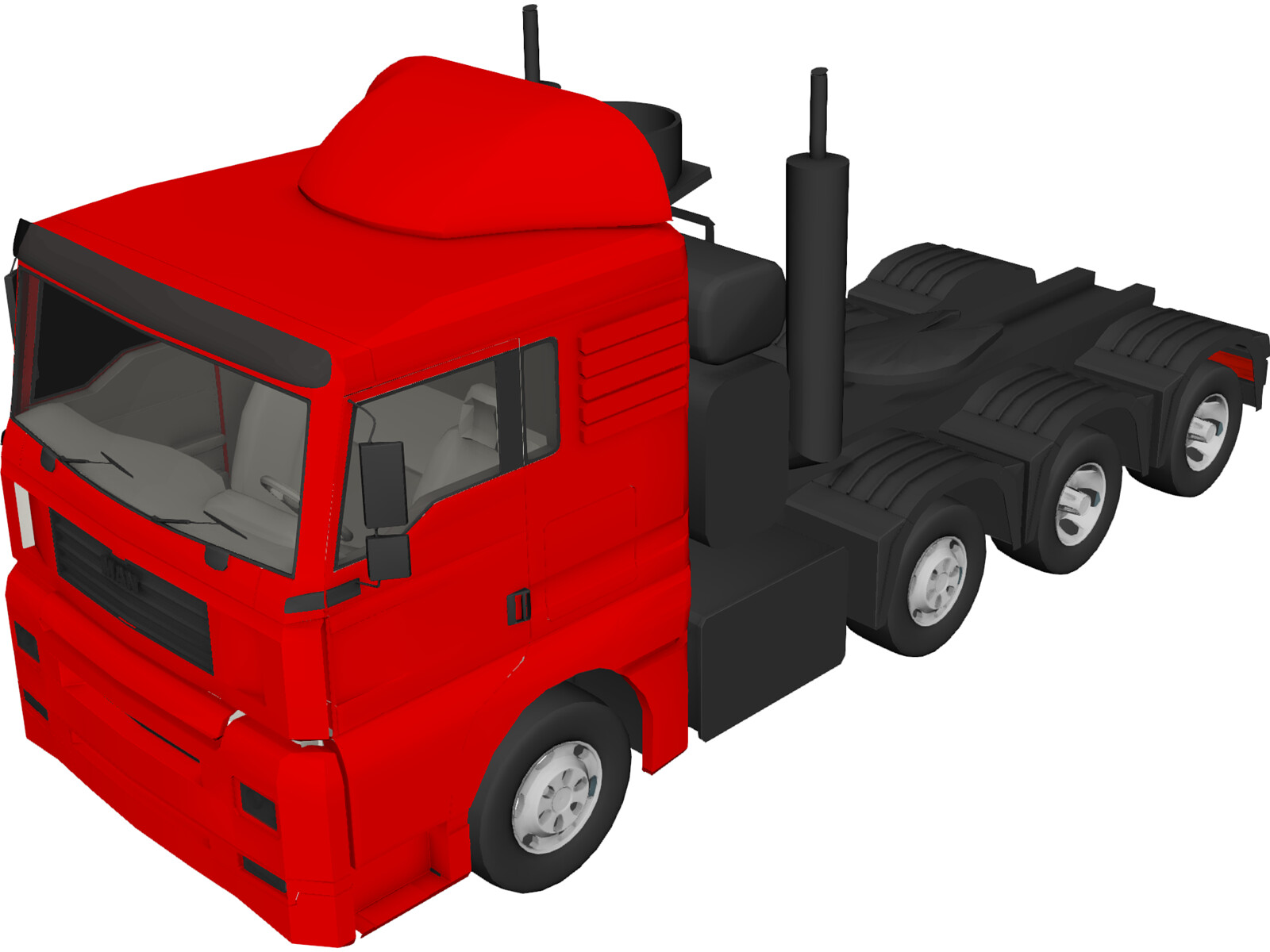 MAN Truck 3D Model - 3D CAD Browser