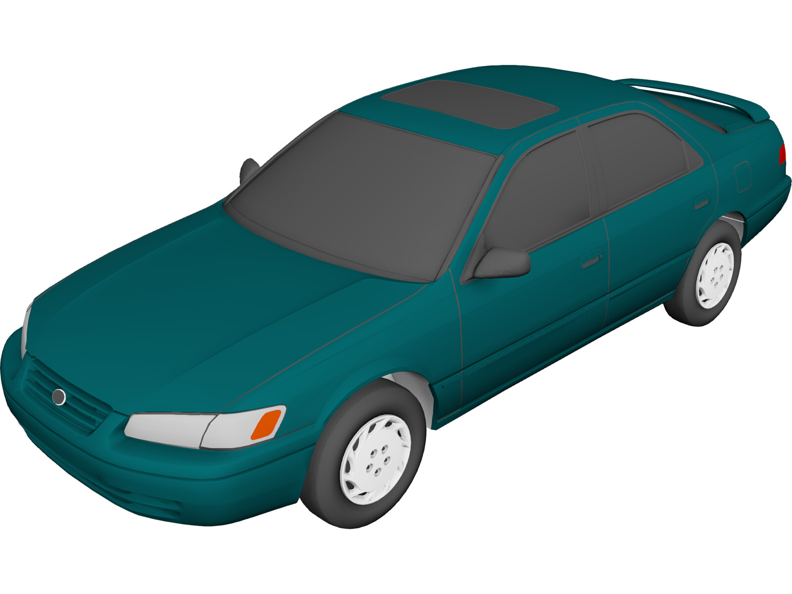 Toyota Camry (1997) 3D Model