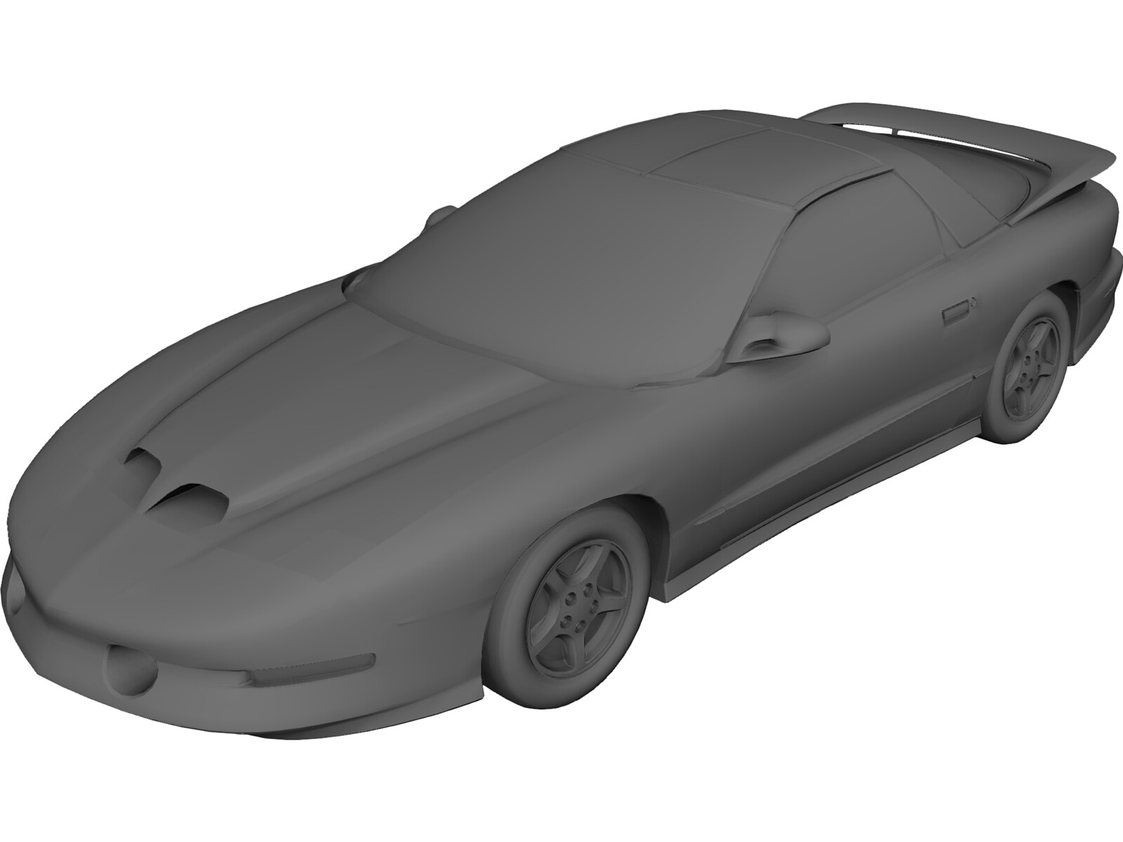 Pontiac Firebird (1996) 3D Model