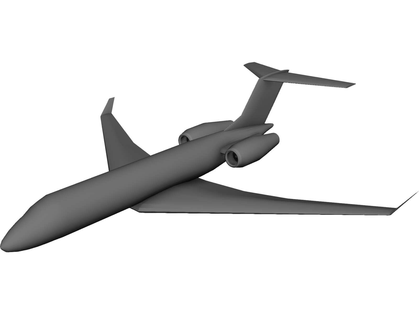 Bombardier Global Express XRS 3D Model
