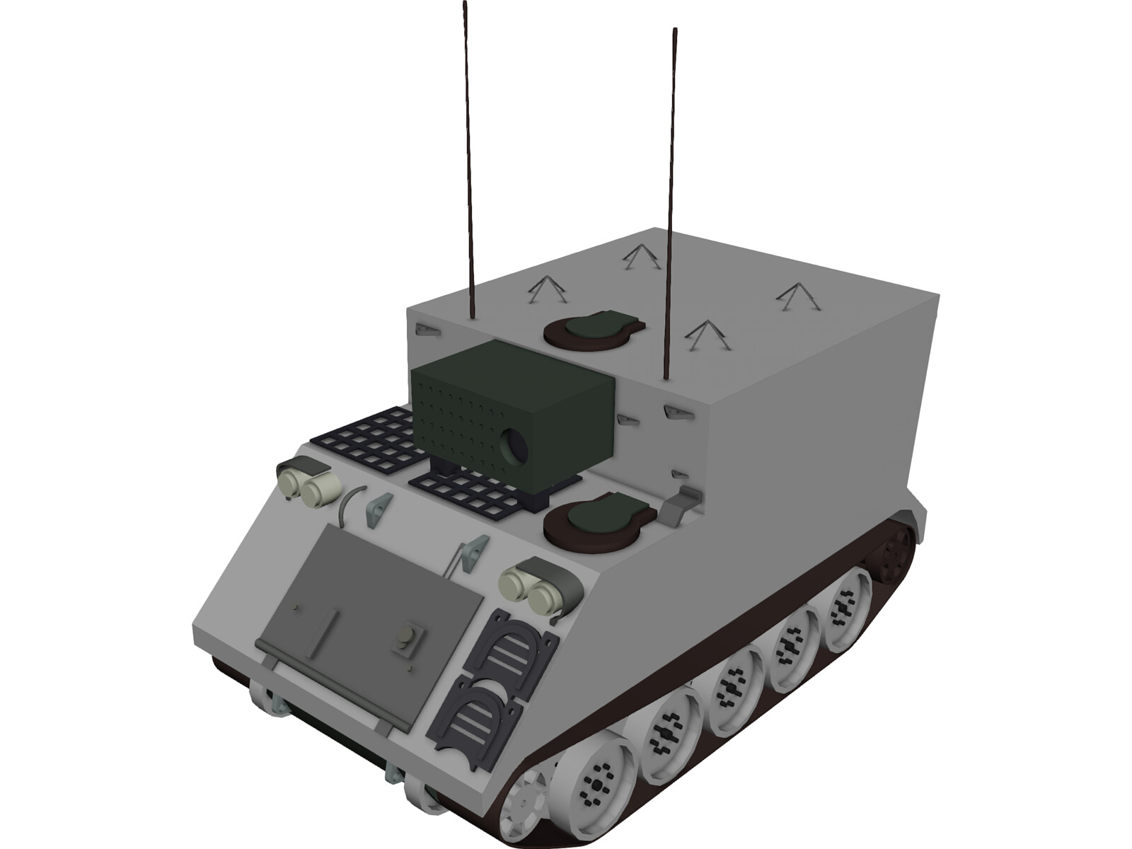 Command Vehicle 1068 3D Model