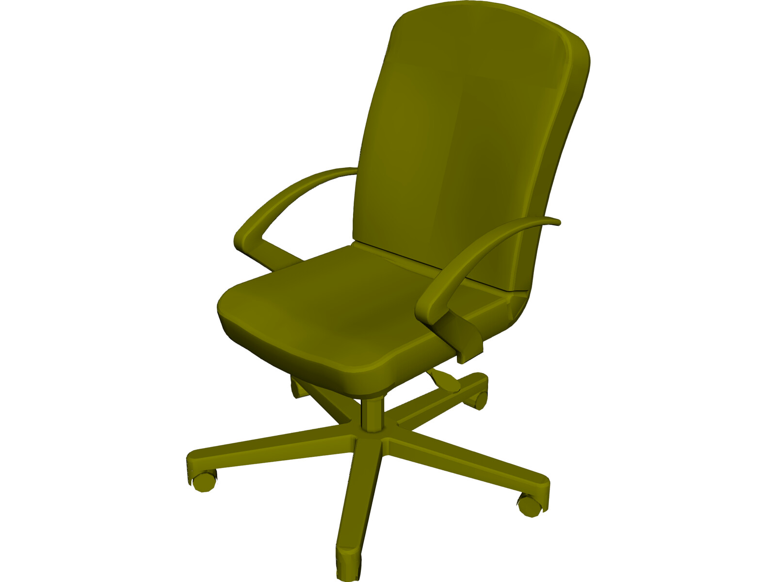 Allsteel Chair 10 3D Model