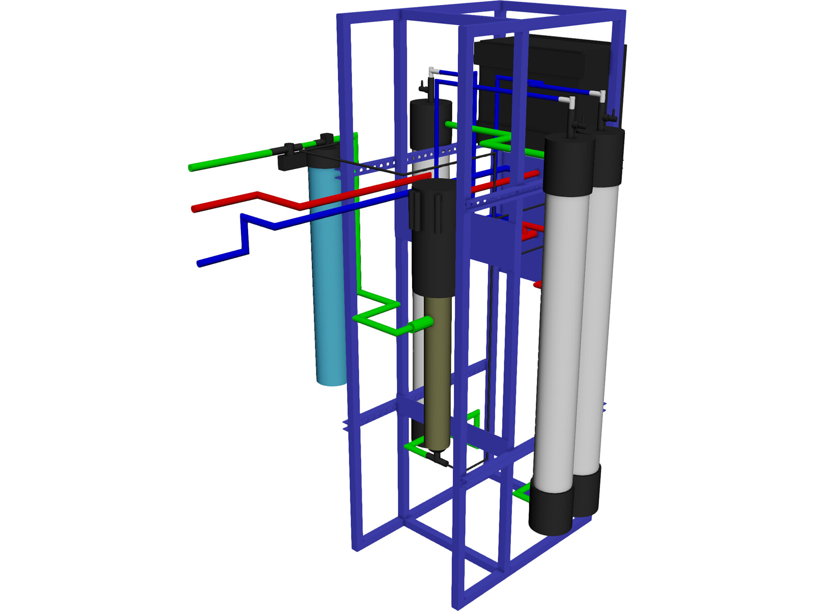 Reverse Osmosis Machine (FDA Approved)