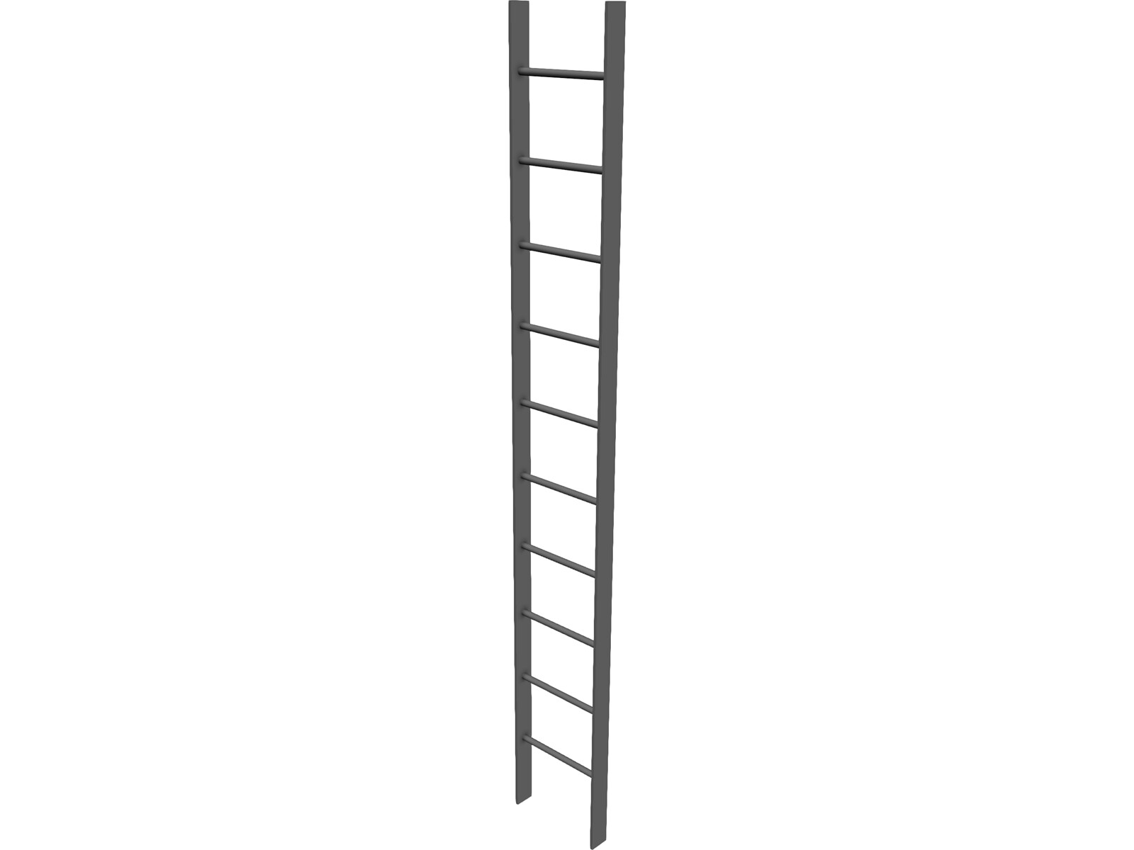 Steel Ladder 3d Model 3d Cad Browser