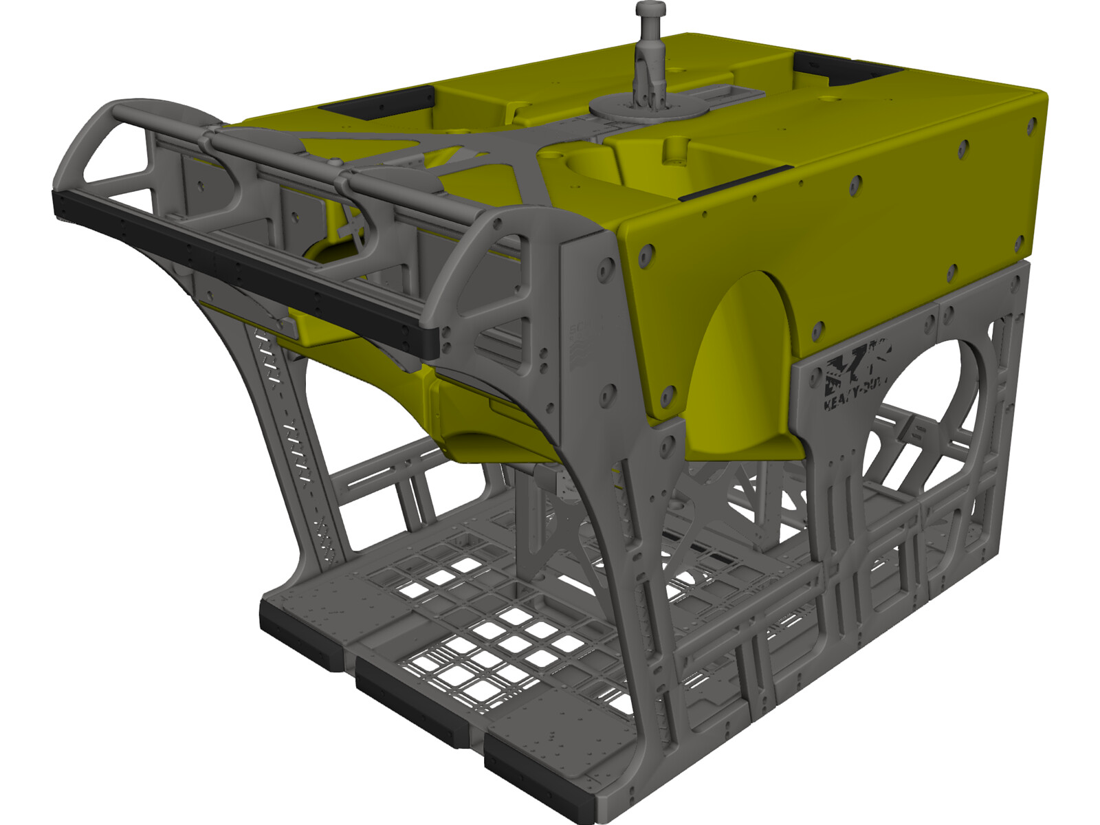 Simplified HD ROV 101-7330 3D CAD Model
