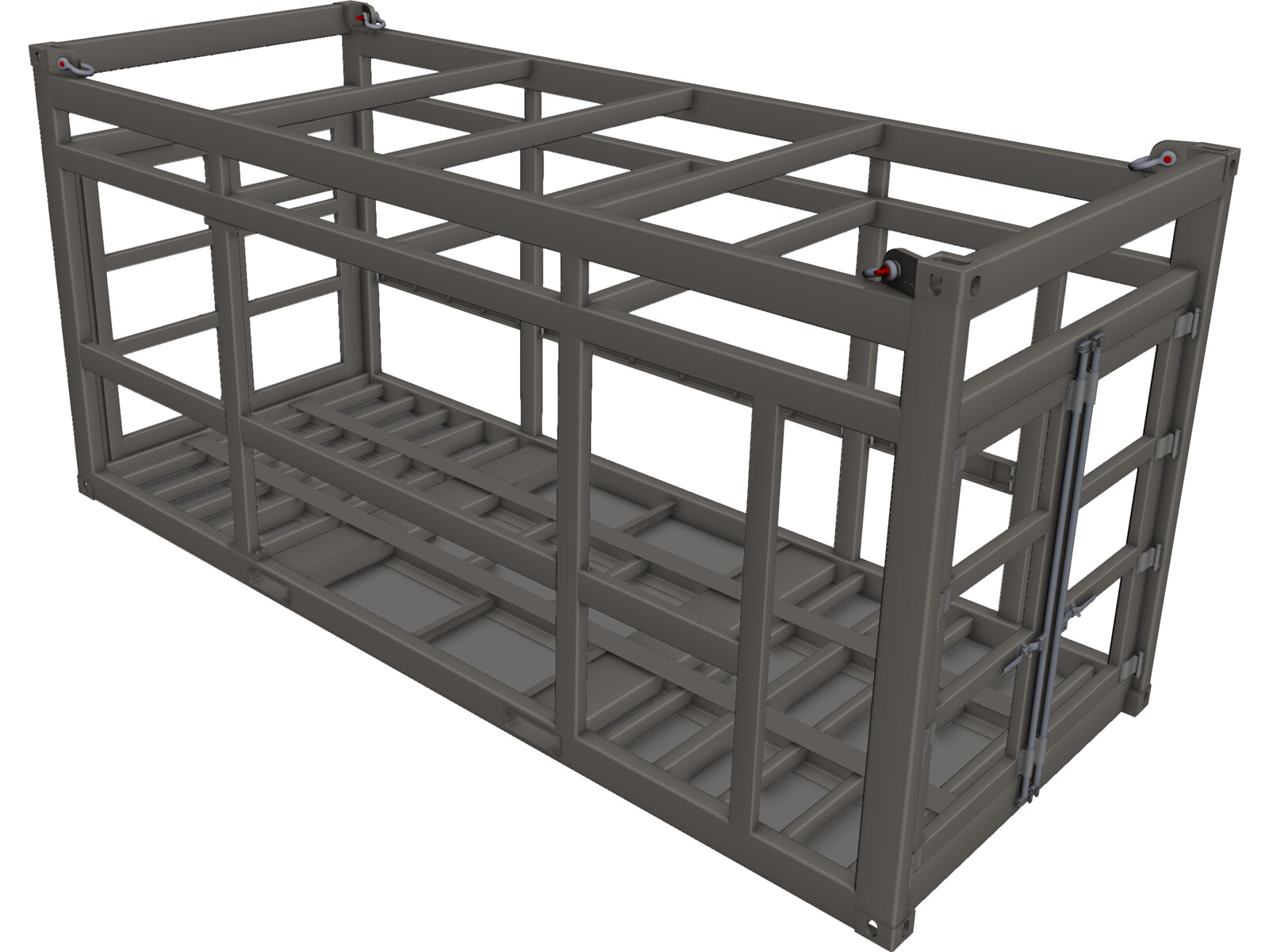Offshore Container Frame 3d Cad Model 3d Cad Browser