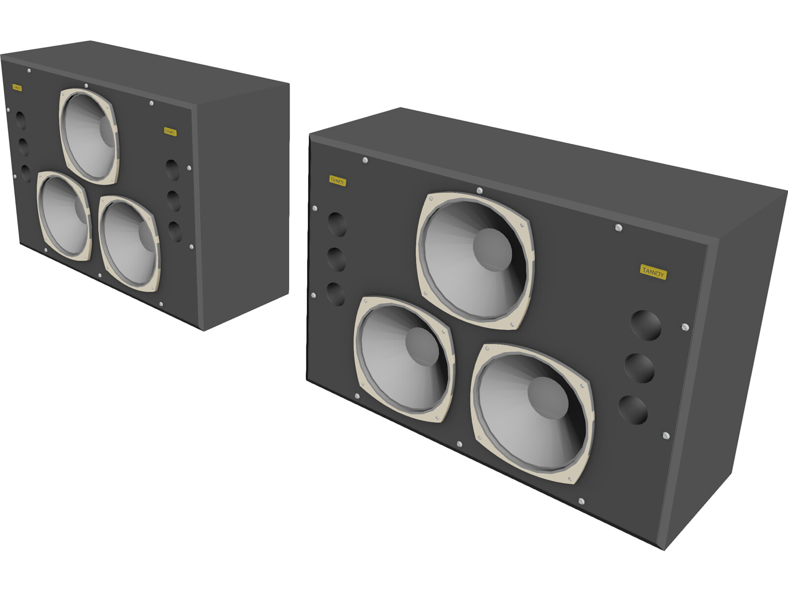 Tannoy Dreadnought Studio Monitor Speakers