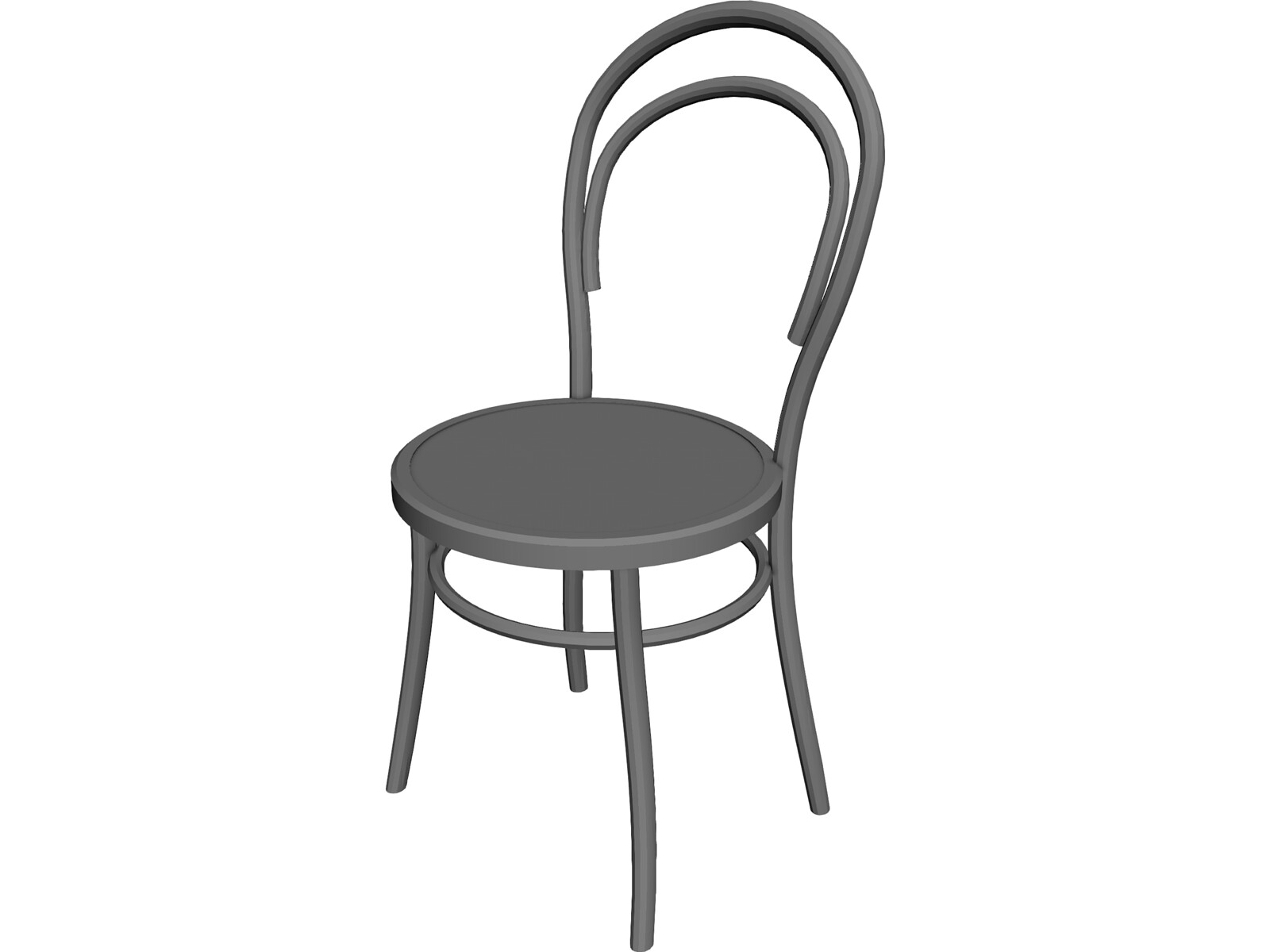 Retro chair 3d model 3d cad browser for Chair 3d model maya