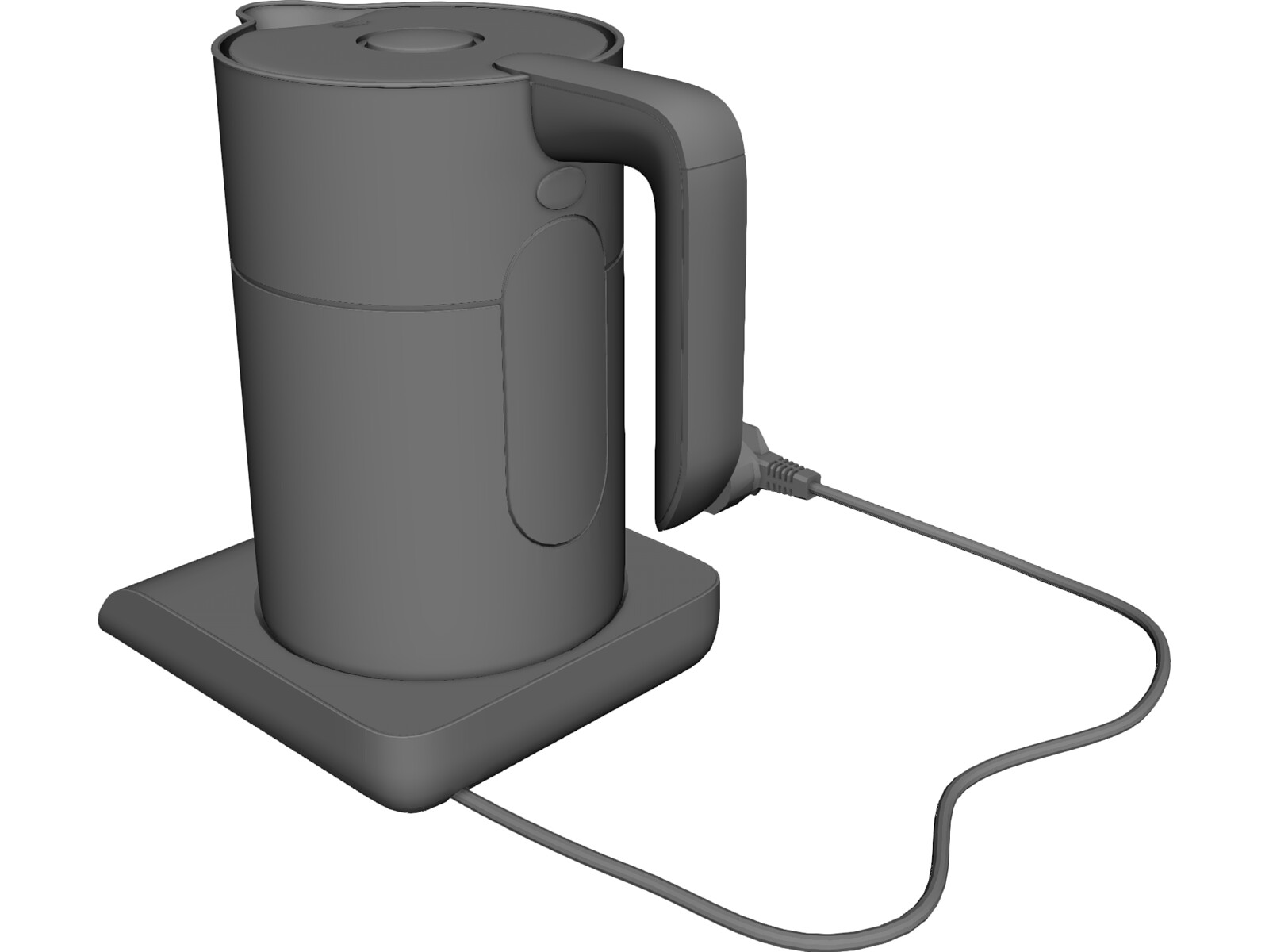 Bosch Electric Kettle 3D Model