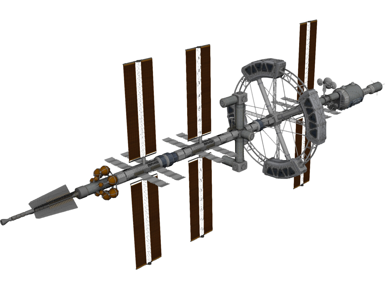 Hermes Spacecraft 3D Model