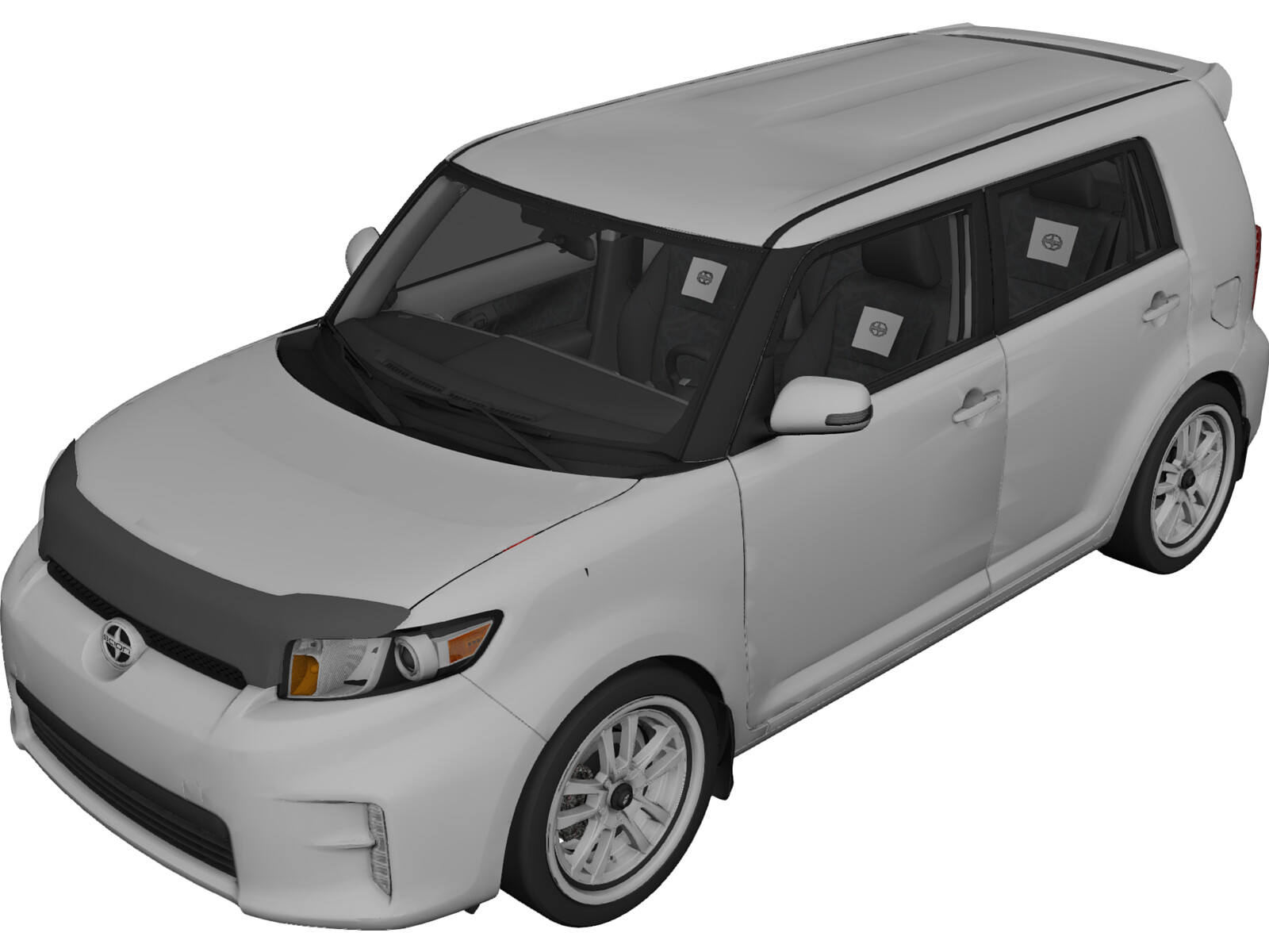 Scion xB (2014) 3D Model