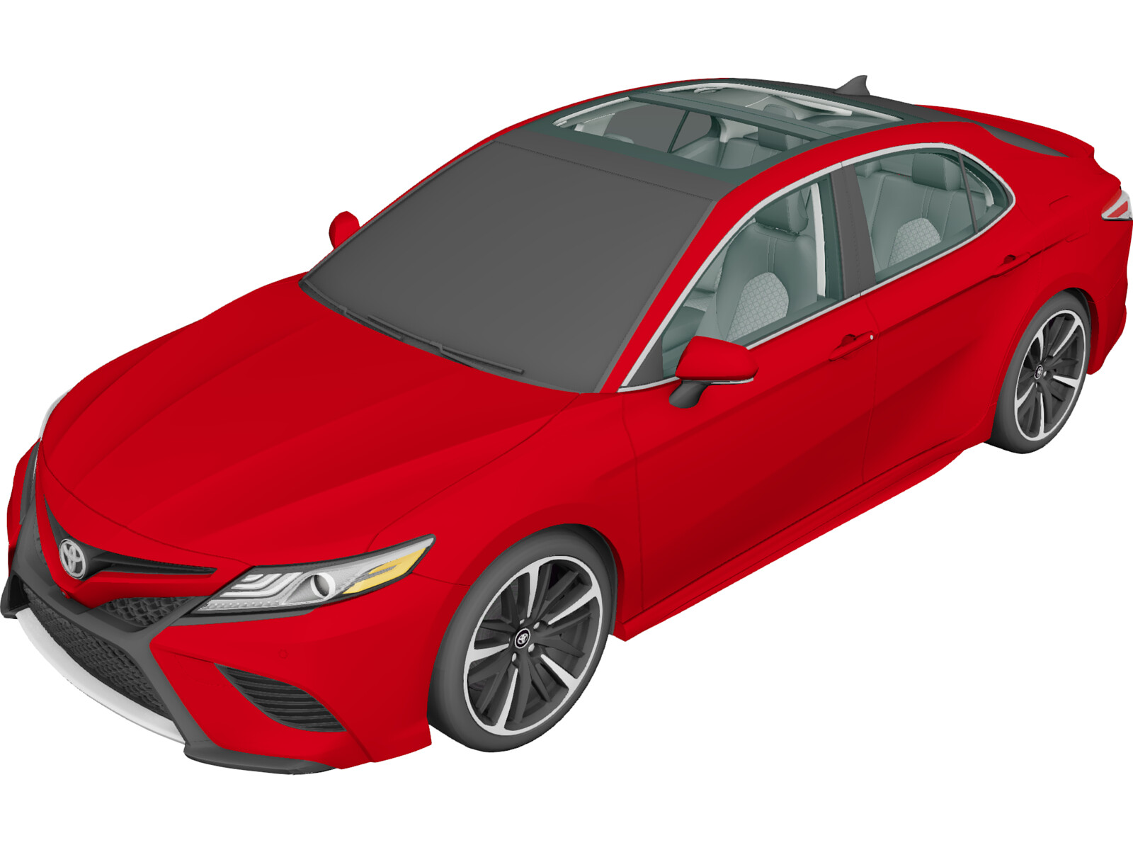 Toyota Camry (2018) 3D Model