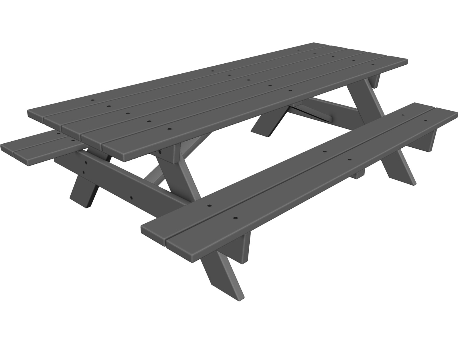 Picnic Table Cad Drawing Plans For Garden Shed Lean To Portable - Picnic table michigan