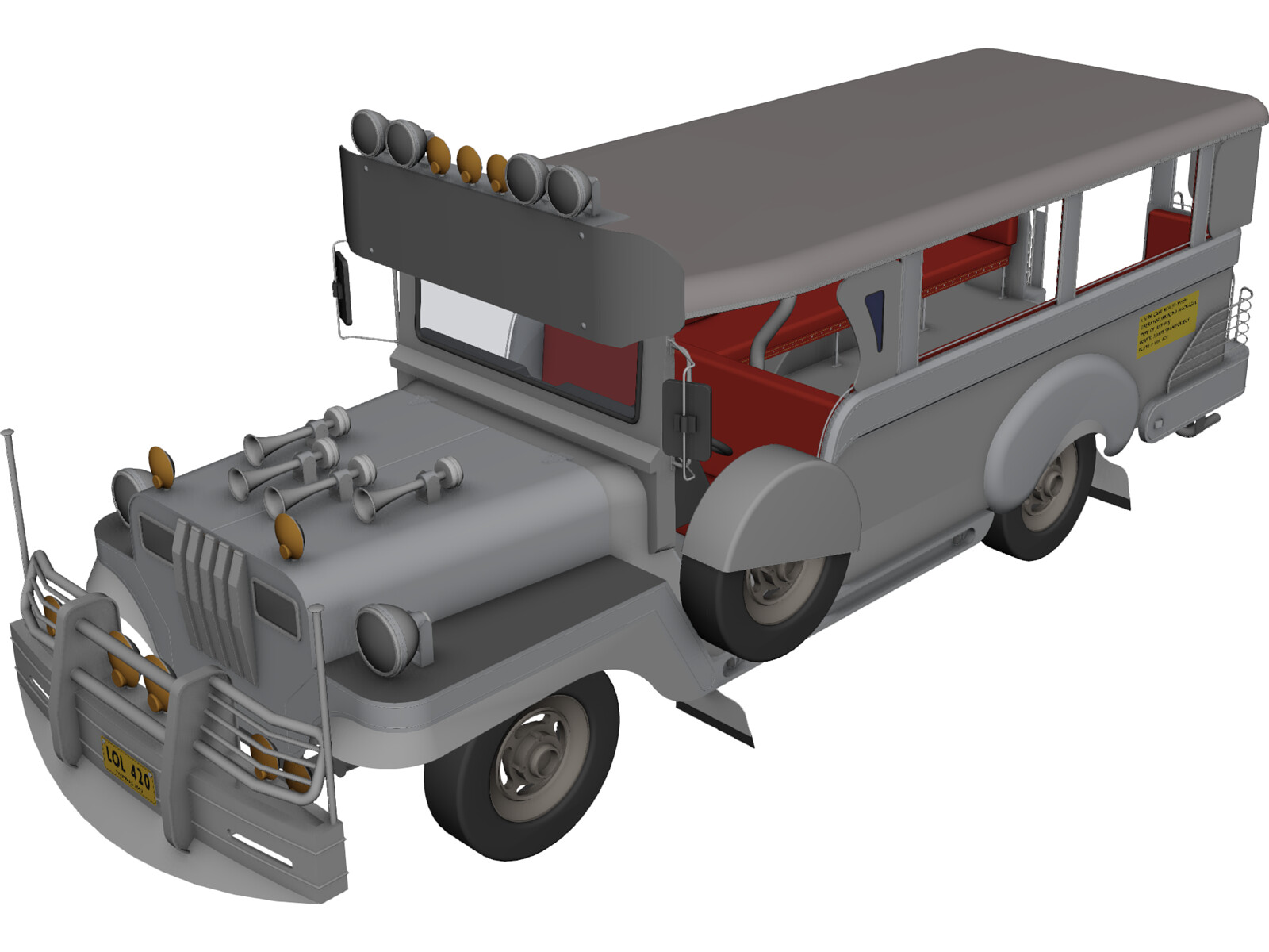 Jeep Philippines 3D Model