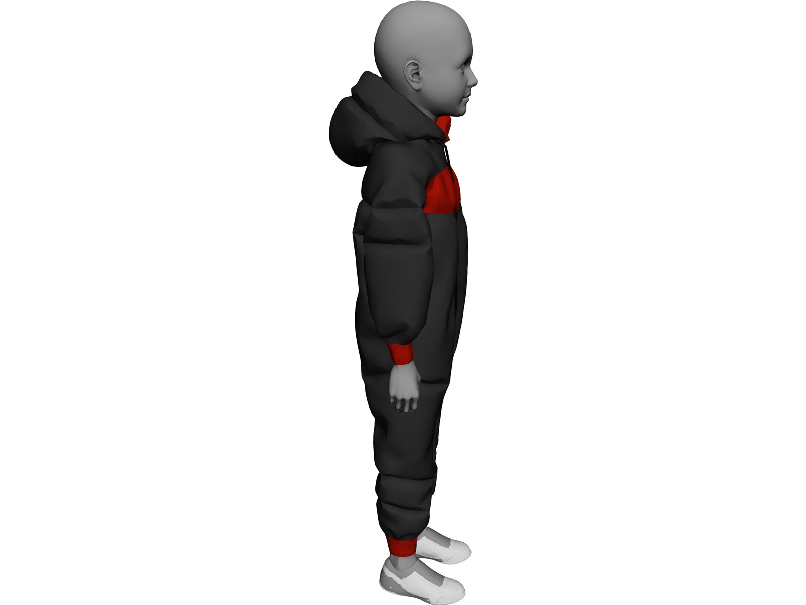 Mannequin Child 3D Model