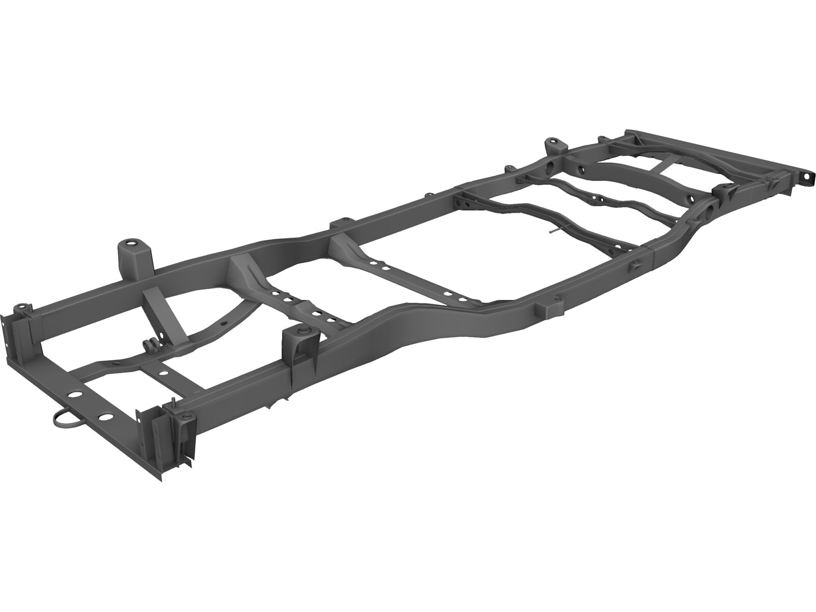 Range Rover Chassis (2010) 3D Model