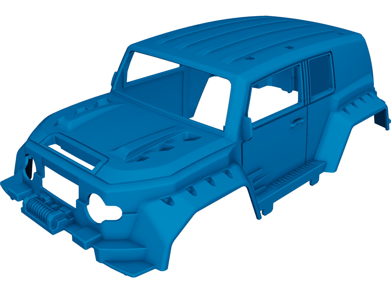 Toyota FJ Cruiser Body 3D Model