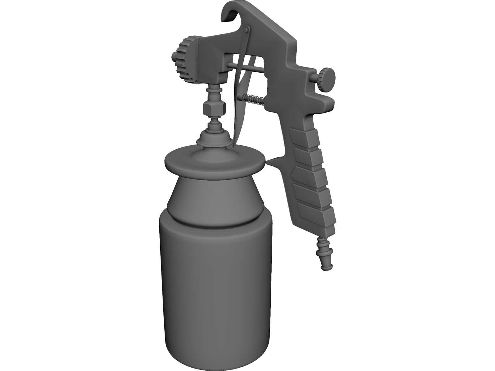 Spray Gun 3D Model