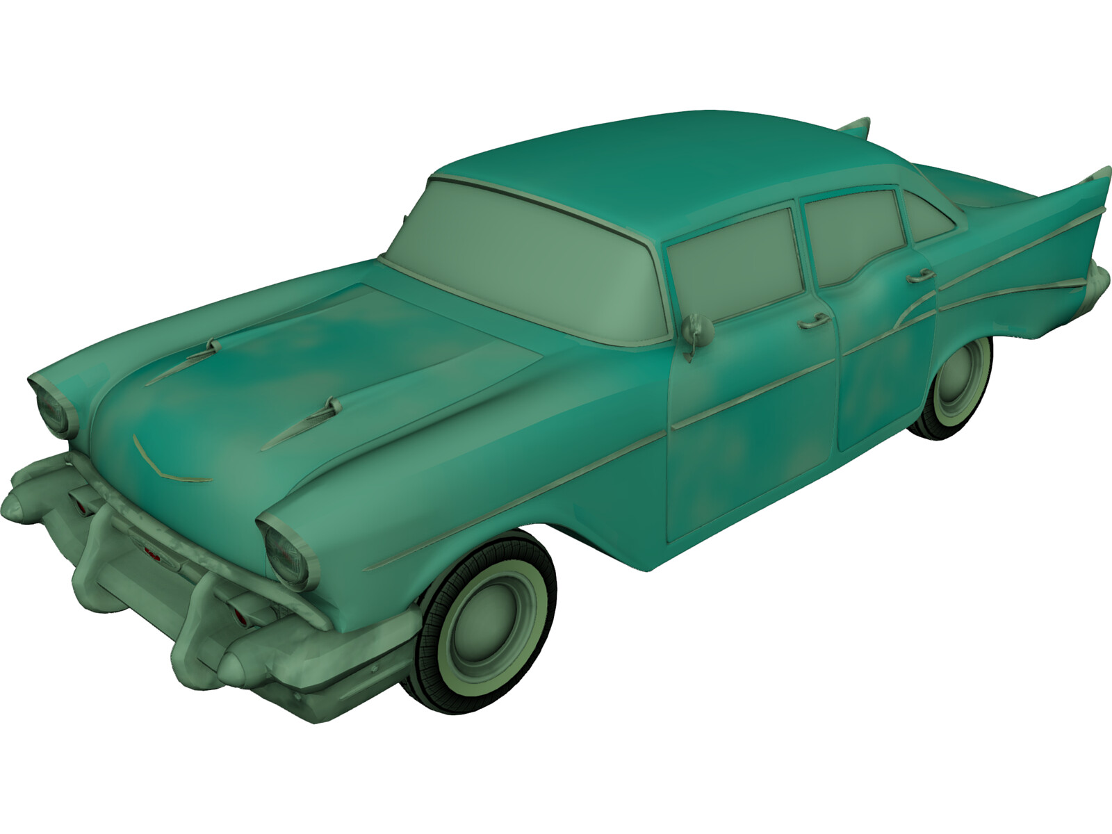 Chevrolet Bel Air Classic (1952) 3D Model