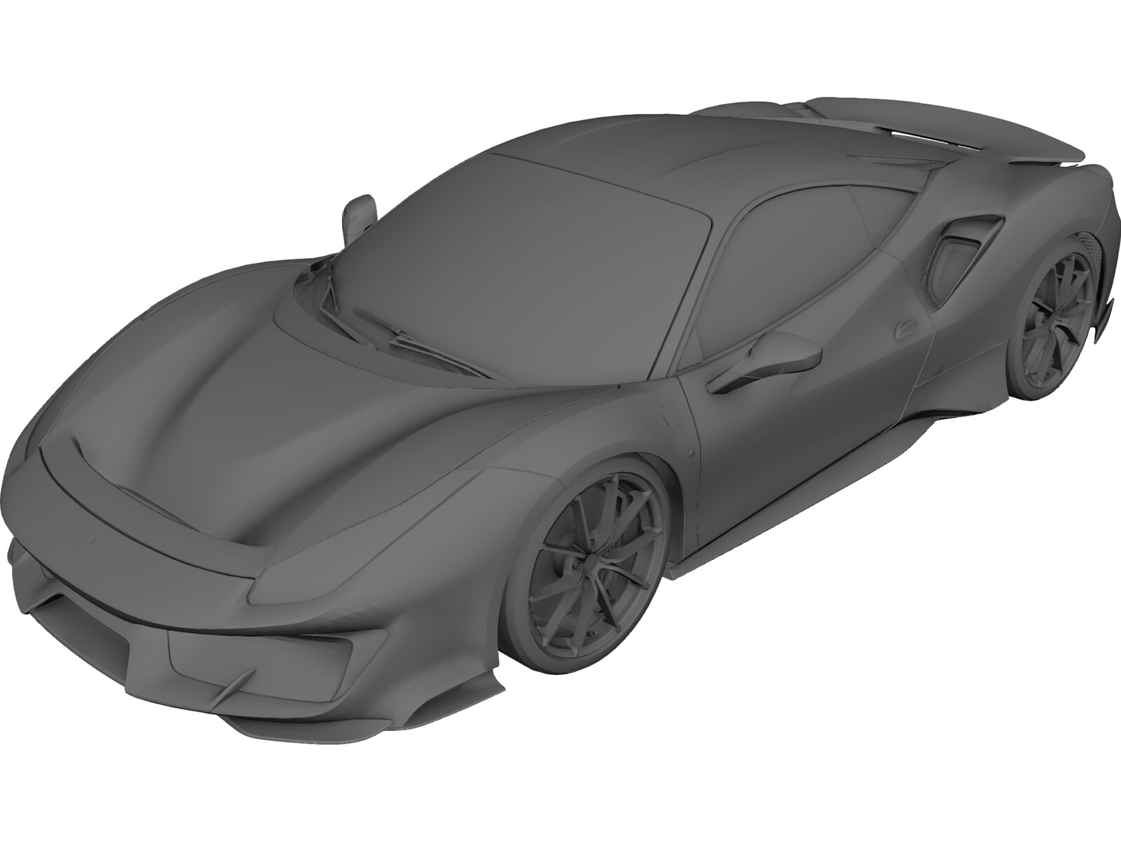 Ferrari 488 Pista 2019 3d Model 3d Cad Browser