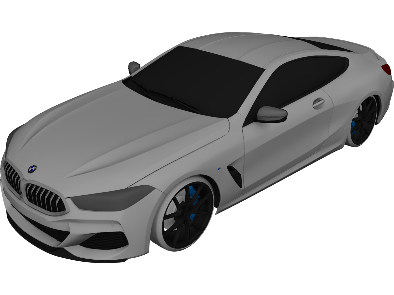 BMW 850i Coupe (2019) 3D Model