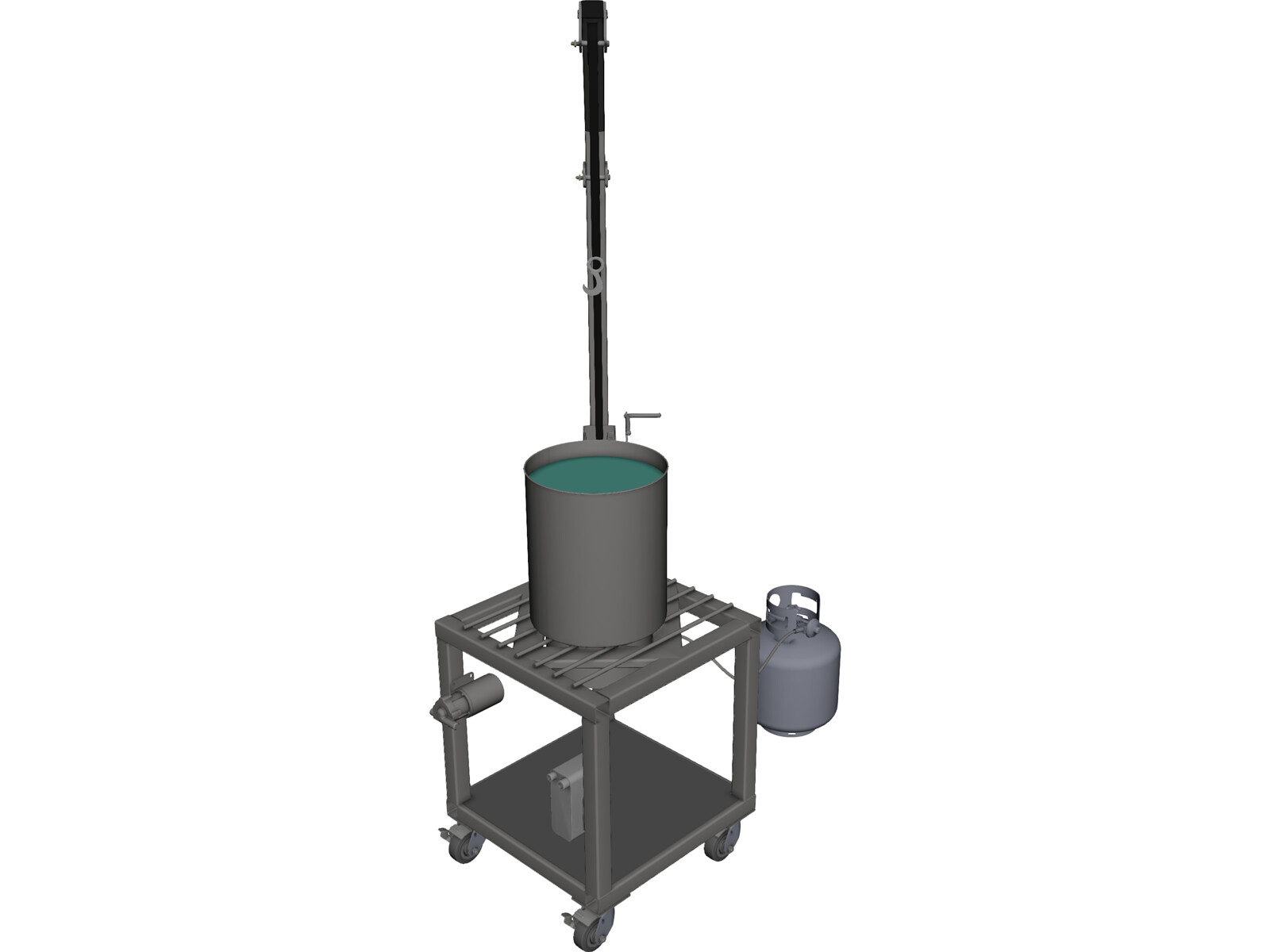 BIAB 5 Gallon 3D Model