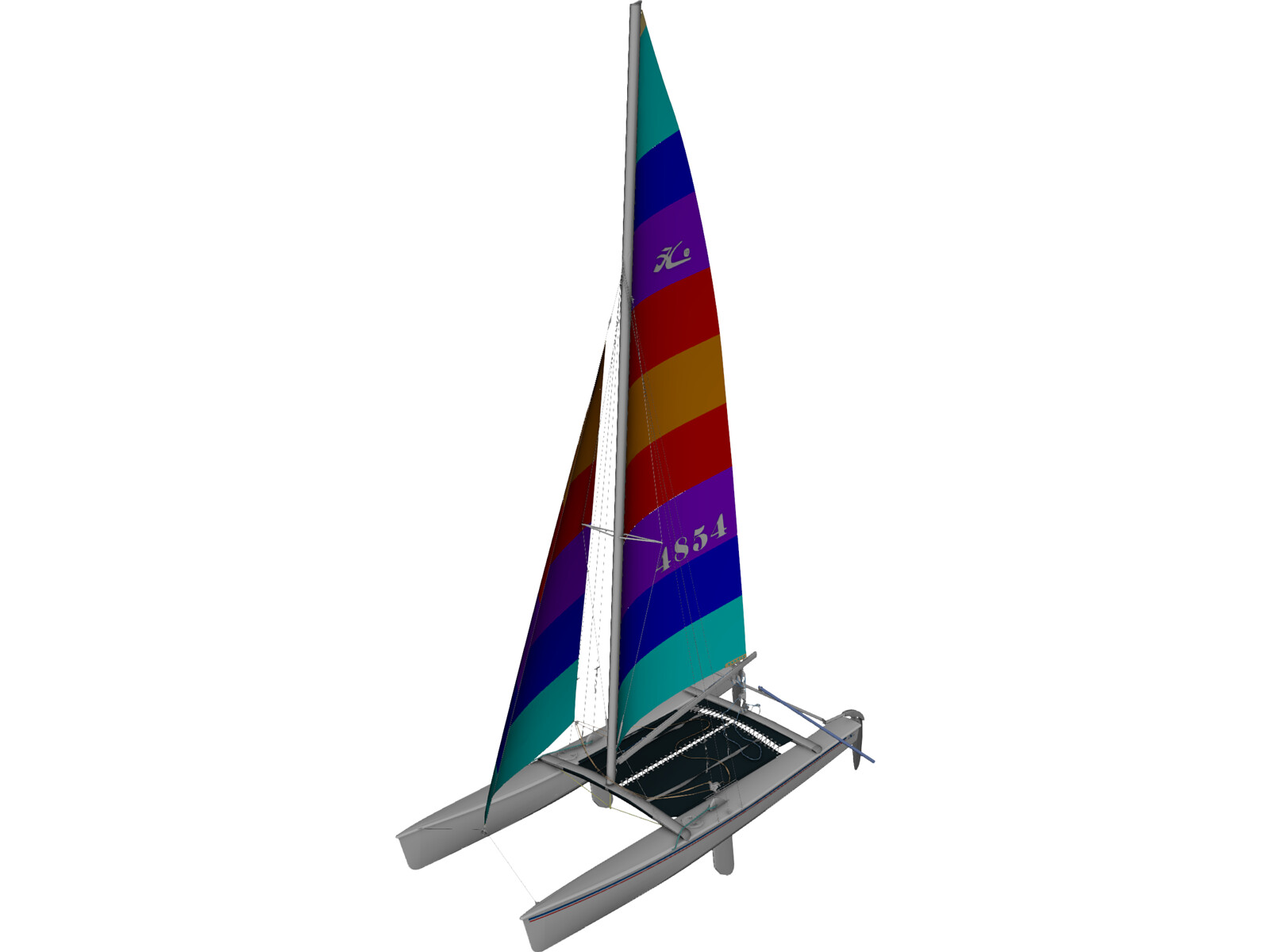 Hobie 18 Racing Catamaran