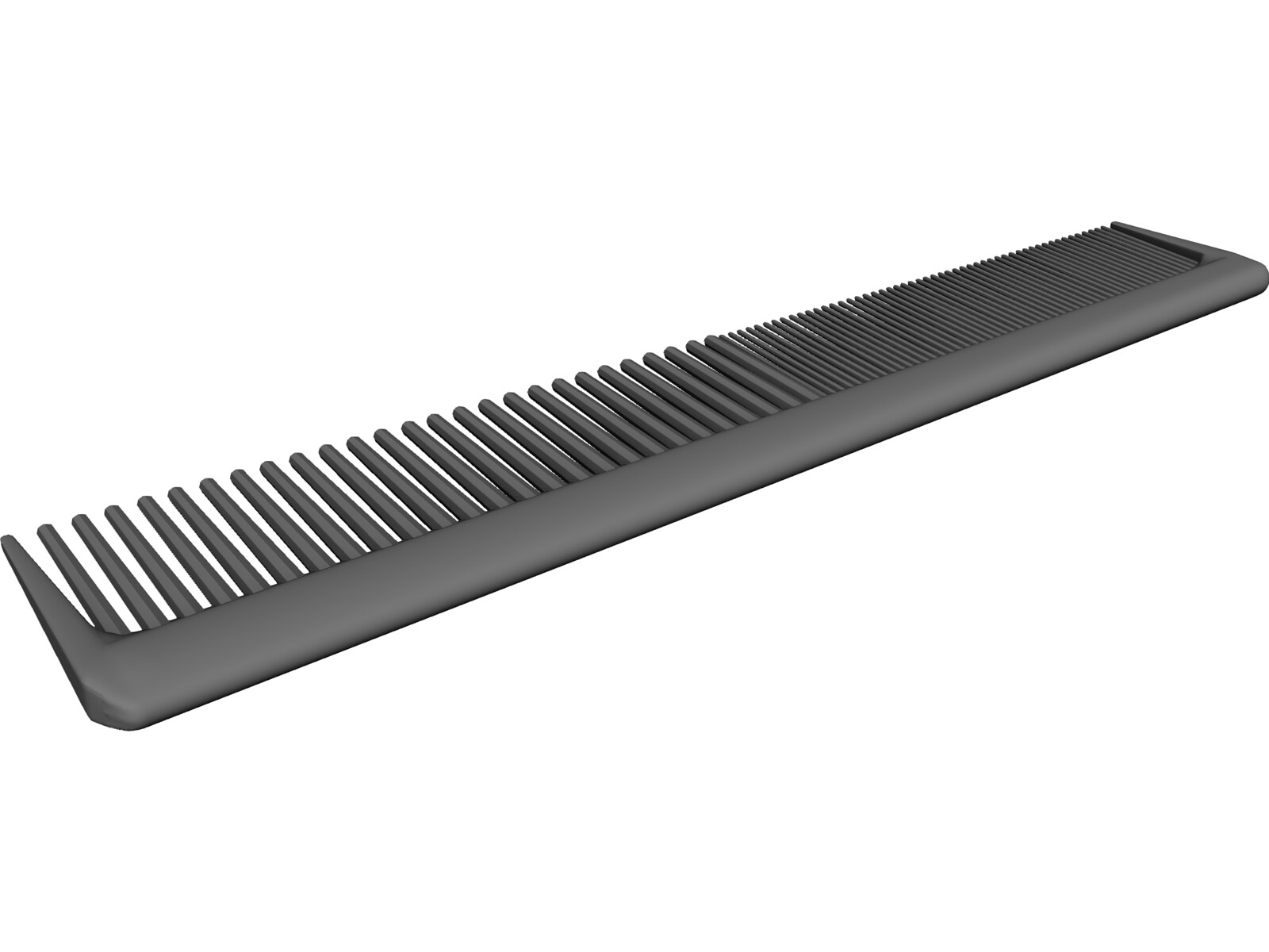 Comb Brush 3D Model