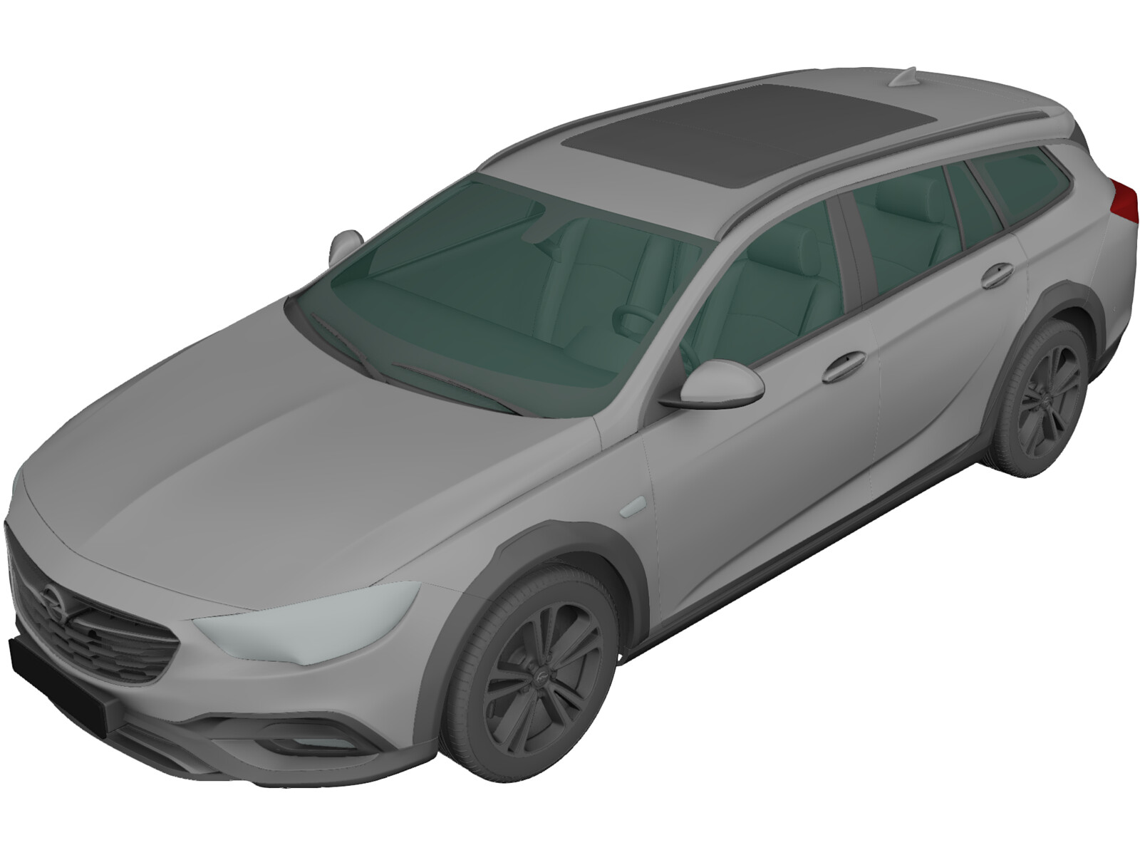 Opel Insignia Country Tourer (2017) 3D Model