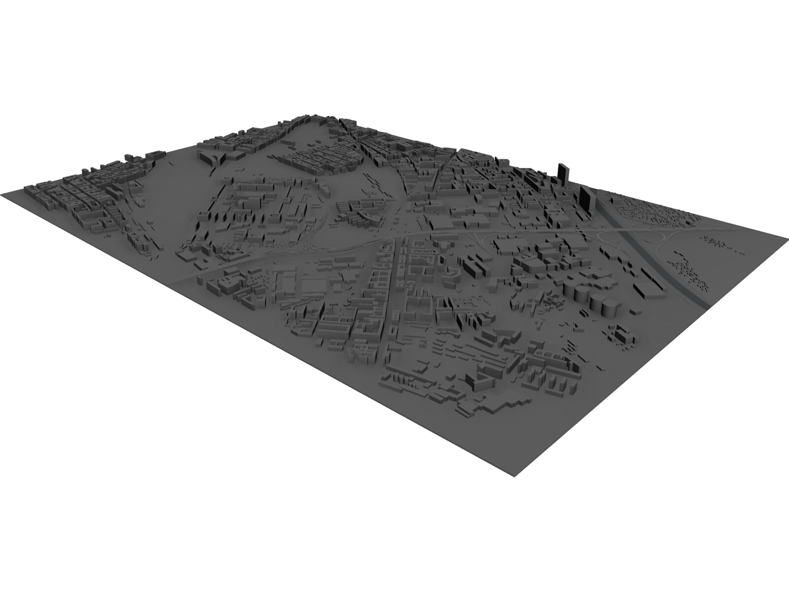 Southeast Vienna 3D Model