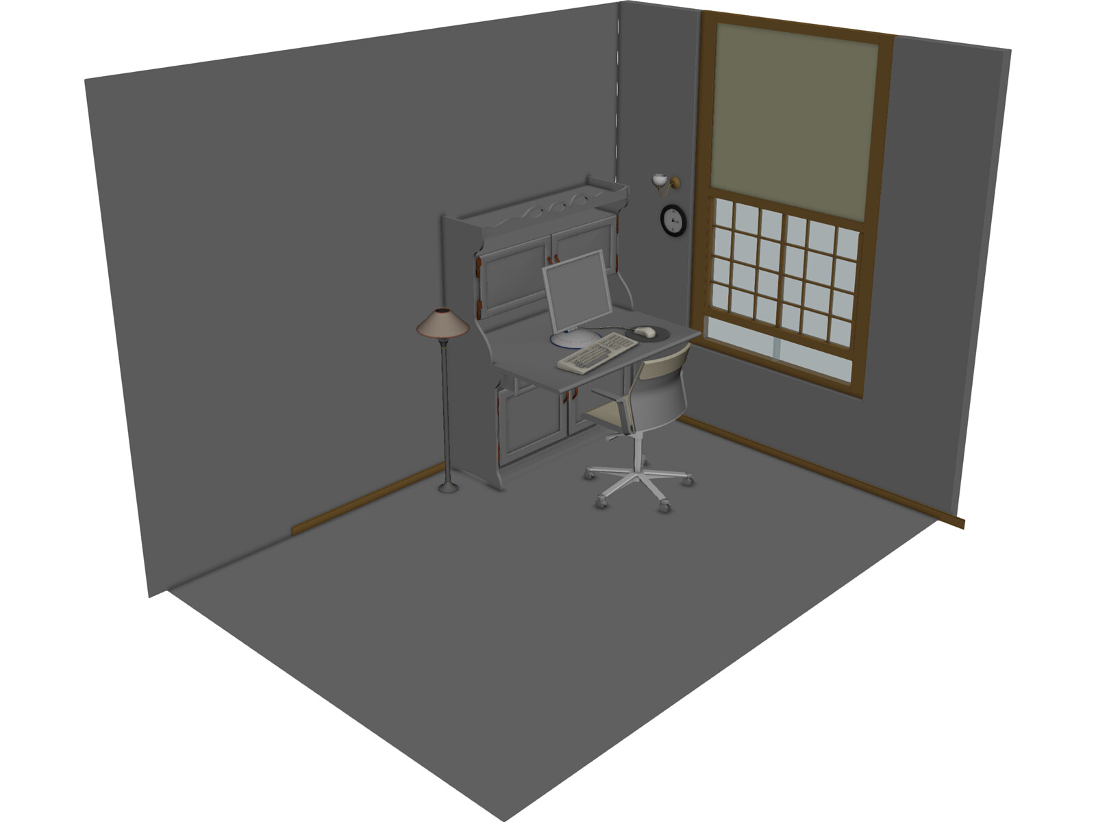 room interior 3d model 3d cad browser