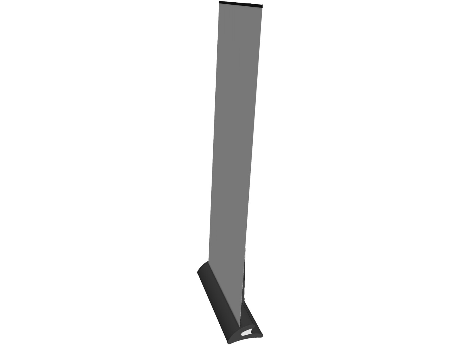Stand Roll Up 3D Model