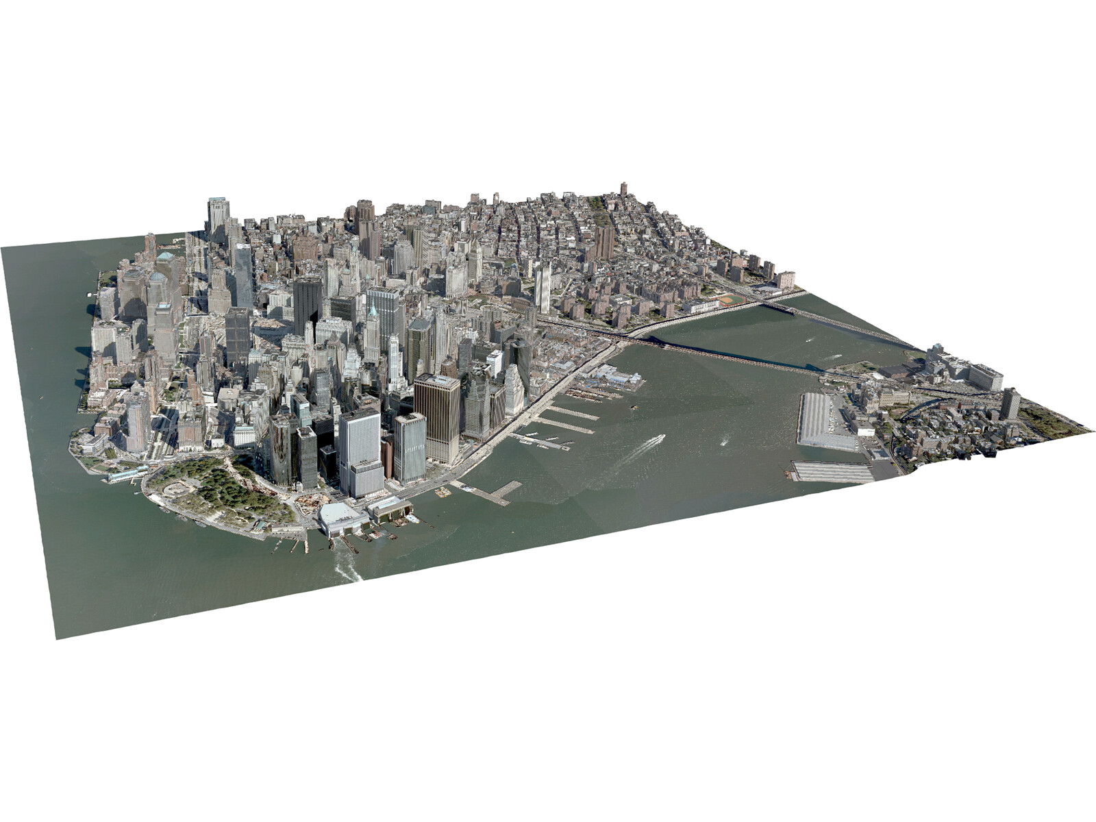 New york city lower manhattan 3d model 3d cad browser for New york models