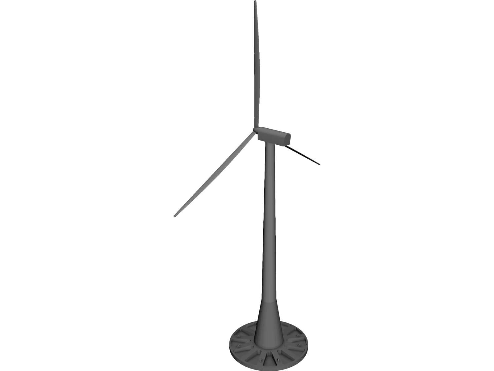 Offshore Windmill 3D Model - 3D CAD Browser