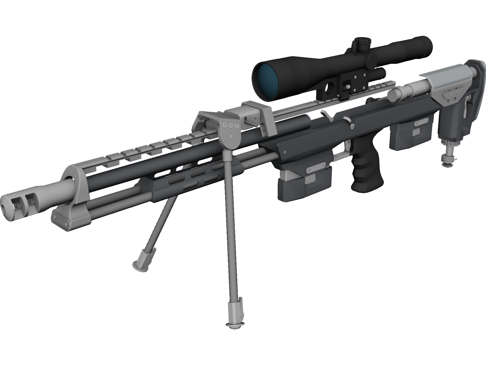 DSR-1 Accuracy International Sniper Rifle (AISR)
