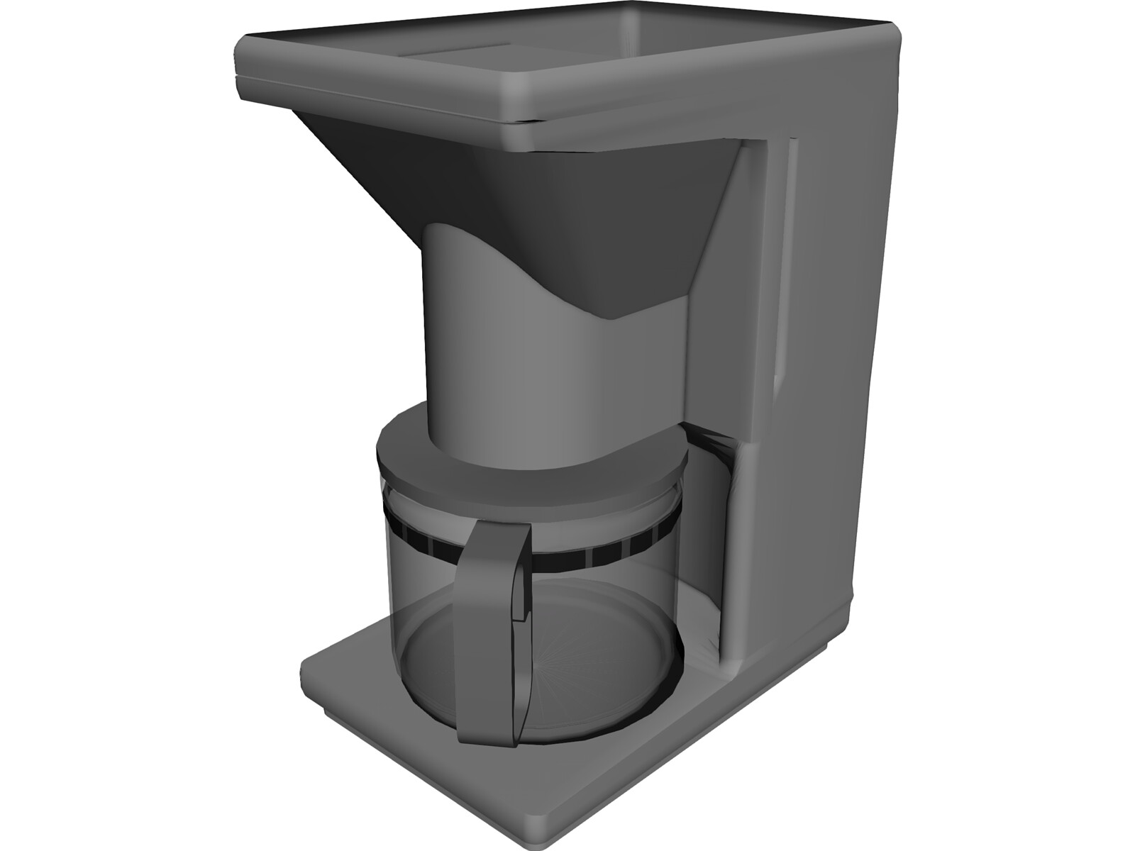 Coffee Maker 3d Model 3d Cad Browser