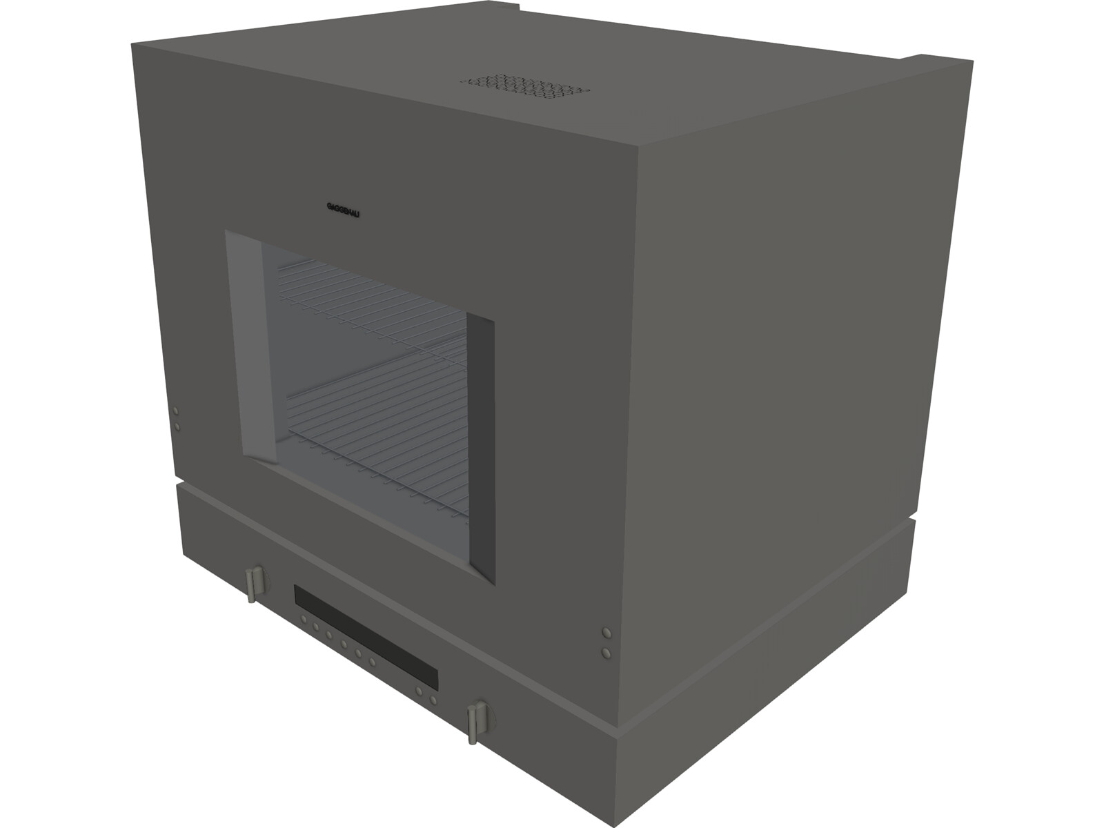 Gaggenau BL 253-110 Lift Oven 3D Model