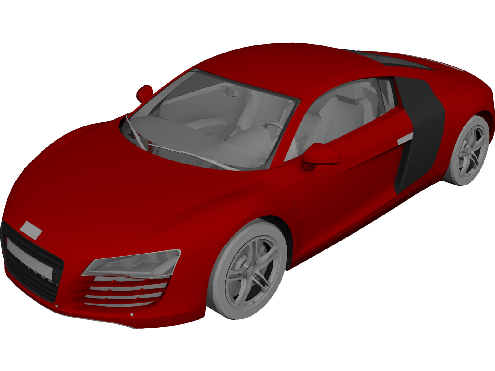 Audi R D Model D CAD Browser - Audi car 3d