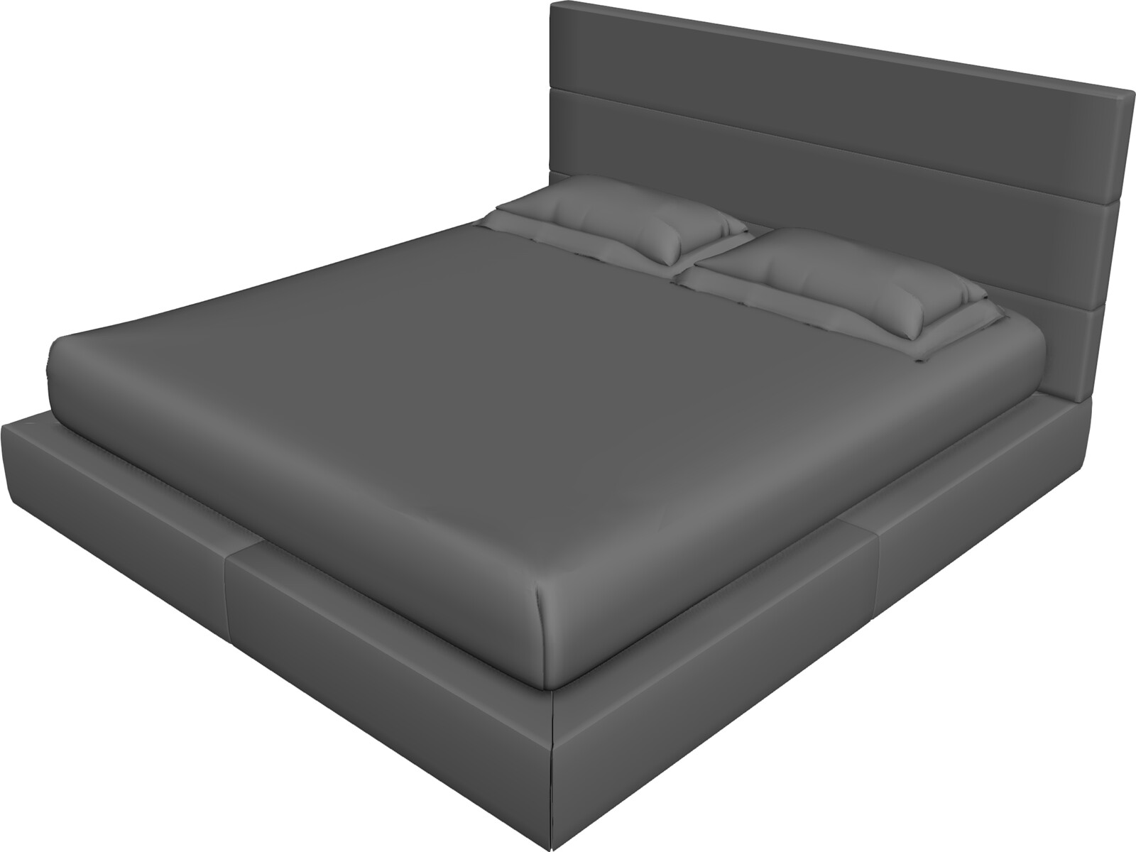 Bed 3d Model 3d Cad Browser