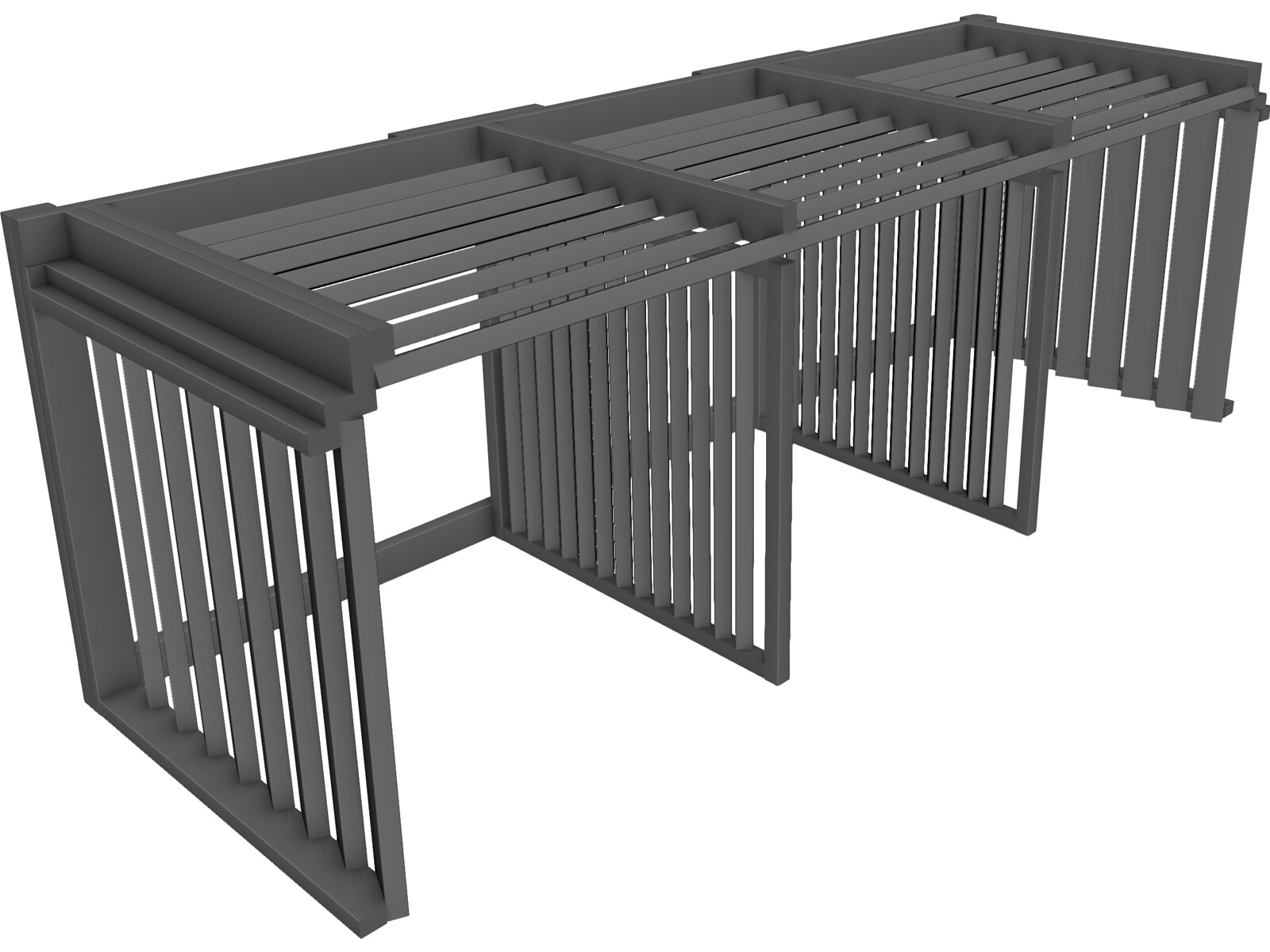 3 Compartment Composting BinFree