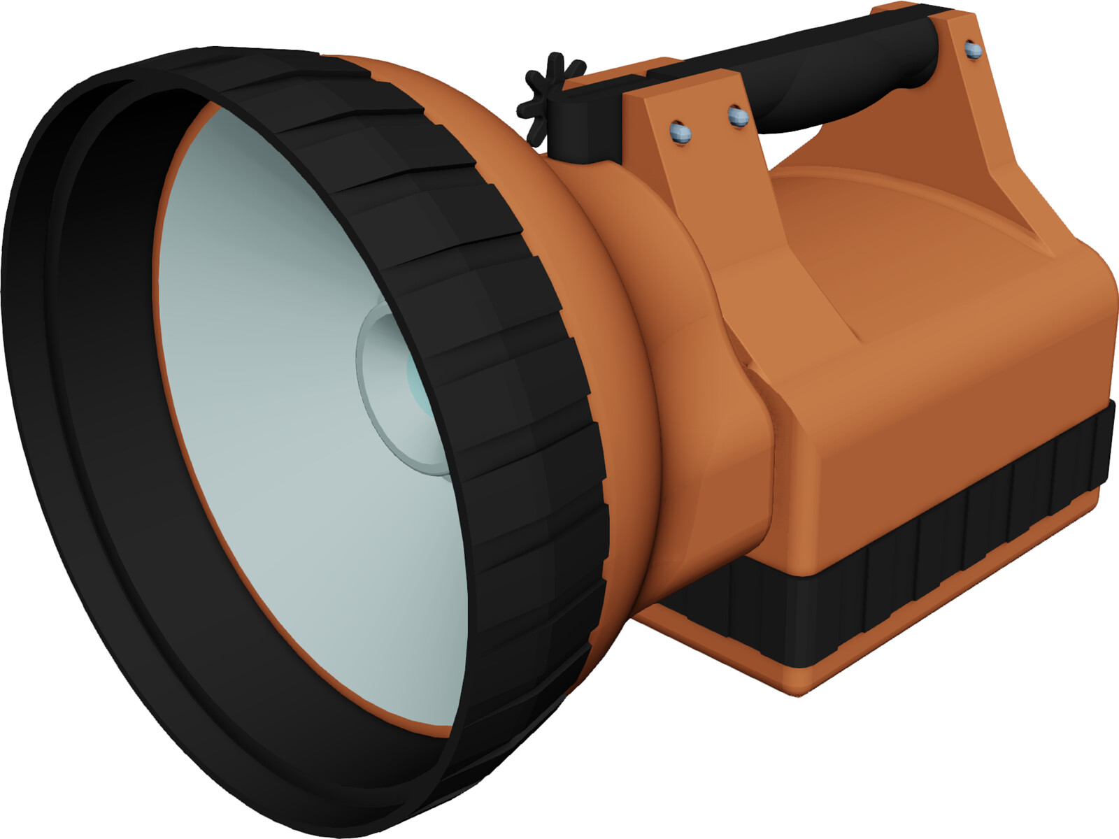 Rechargeable Torch 3D Model