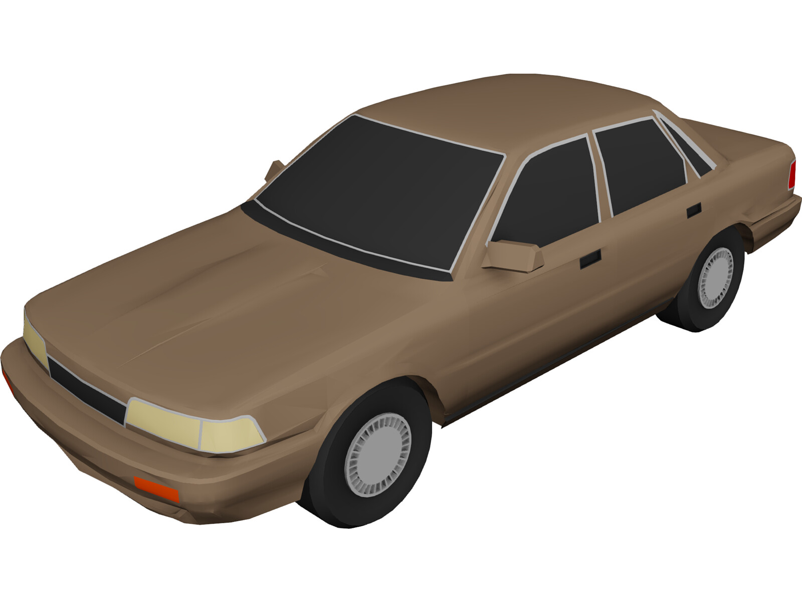 Toyota Camry (1991) 3D Model