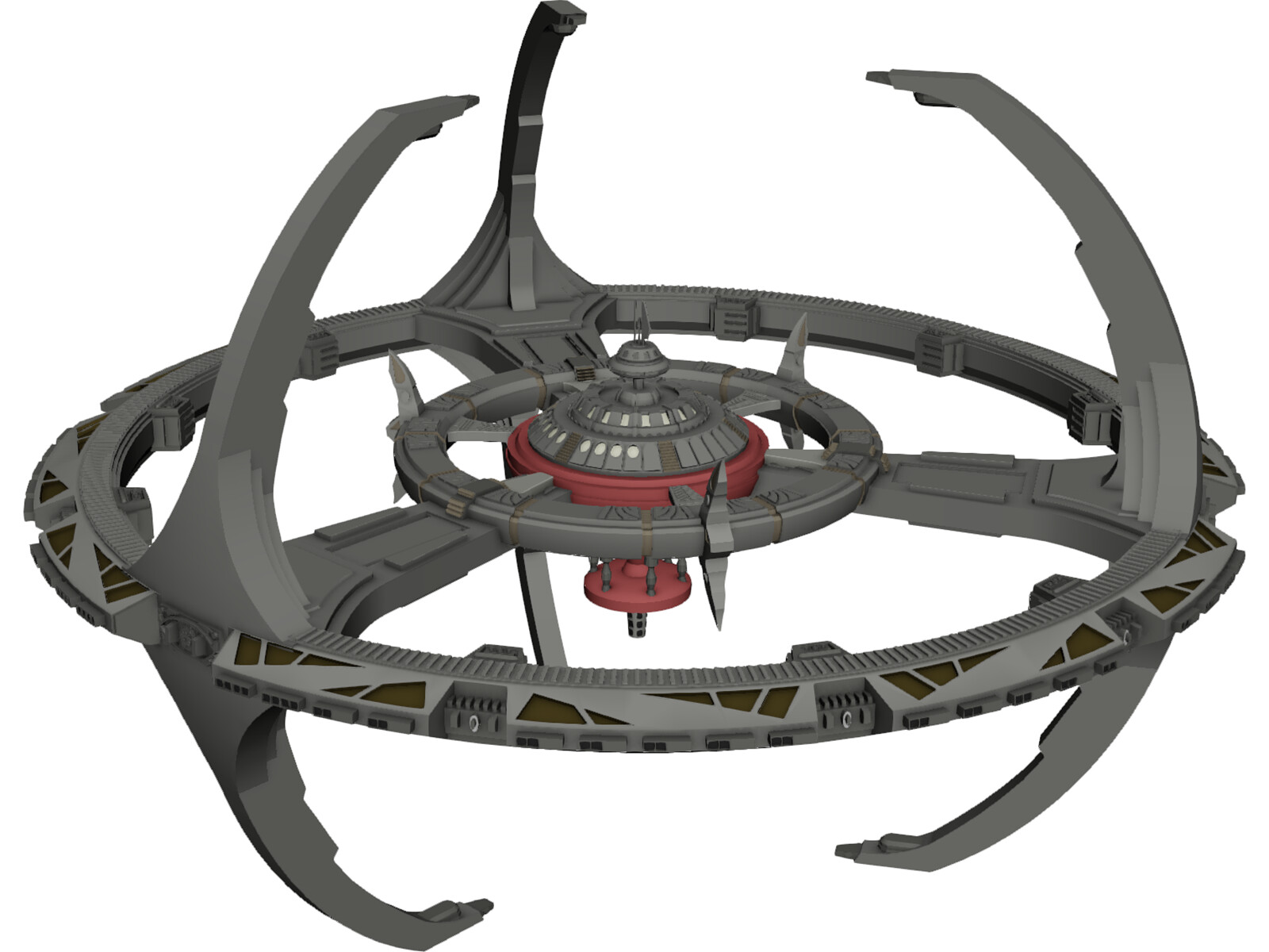 Star Trek DS9 3D Model