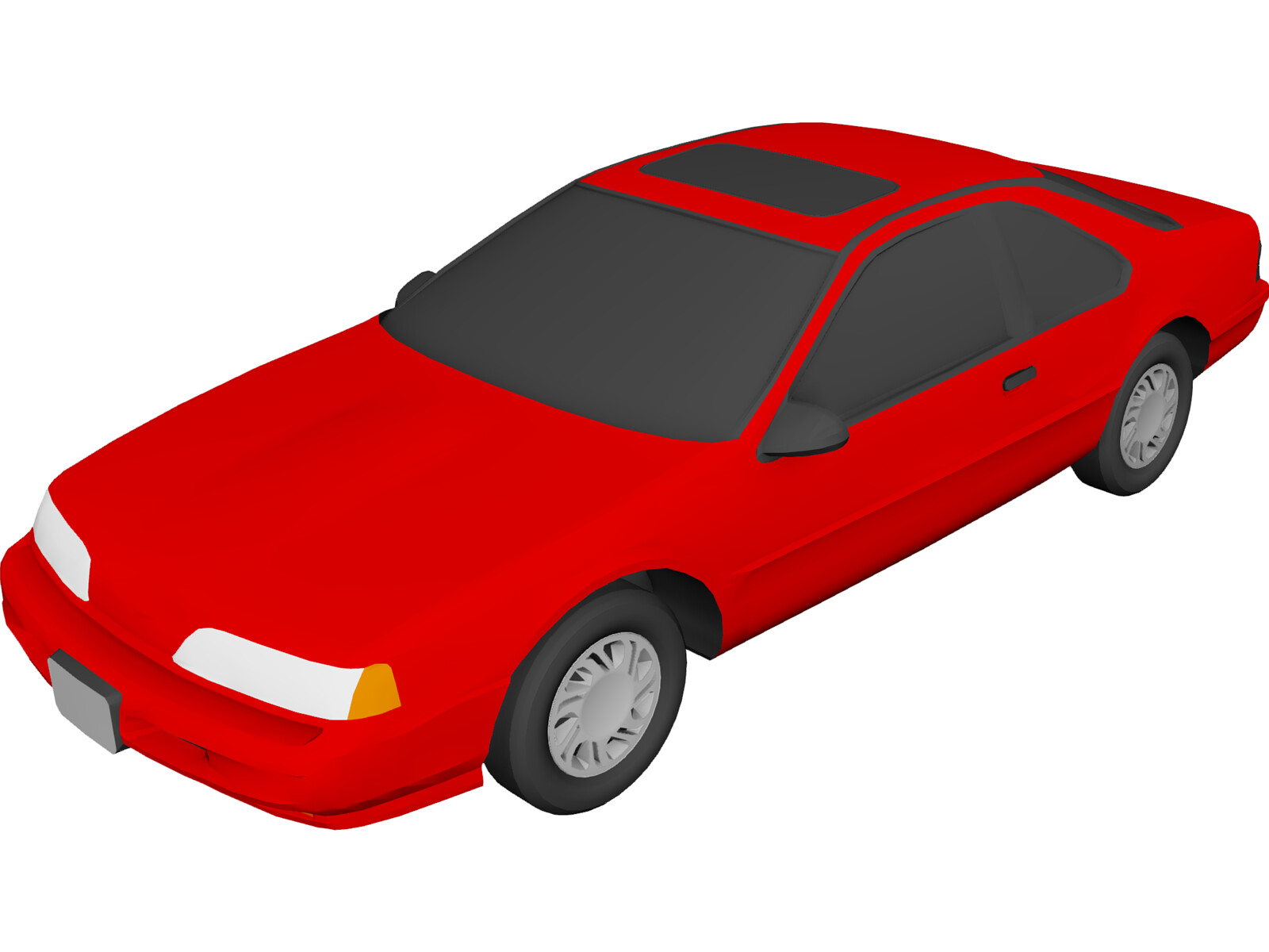 Ford Thunderbird (1992) 3D Model