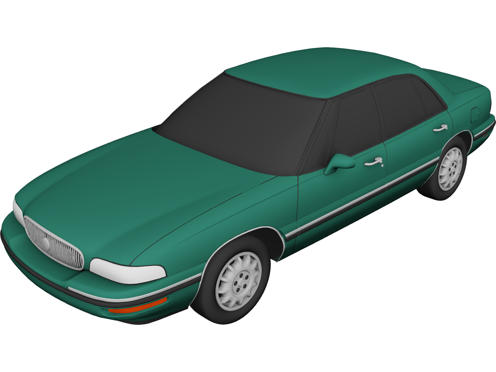 Buick Lesabre 1998 3d Model 3d Cad Browser