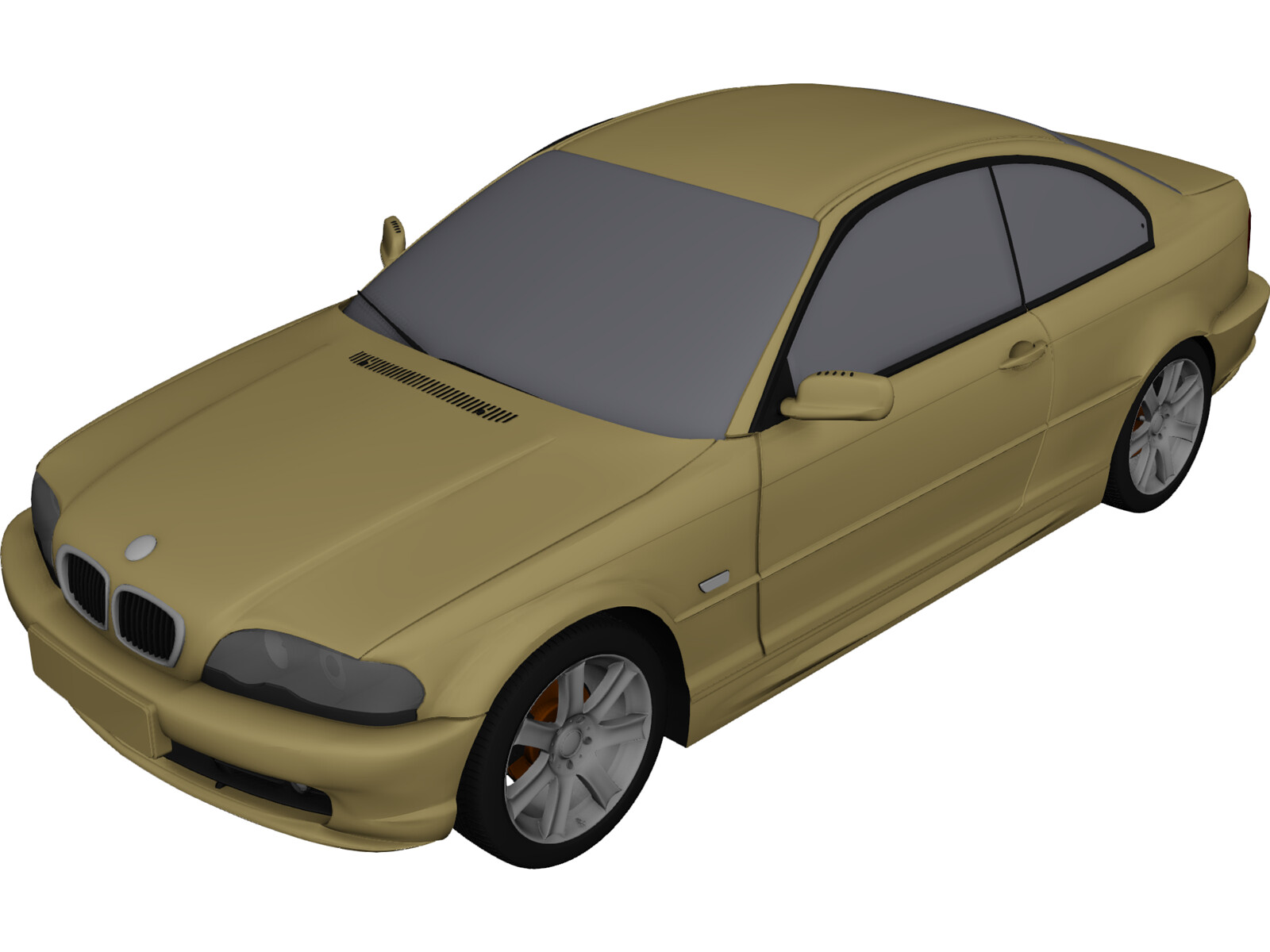 BMW 330Ci Coupe (2000) 3D Model