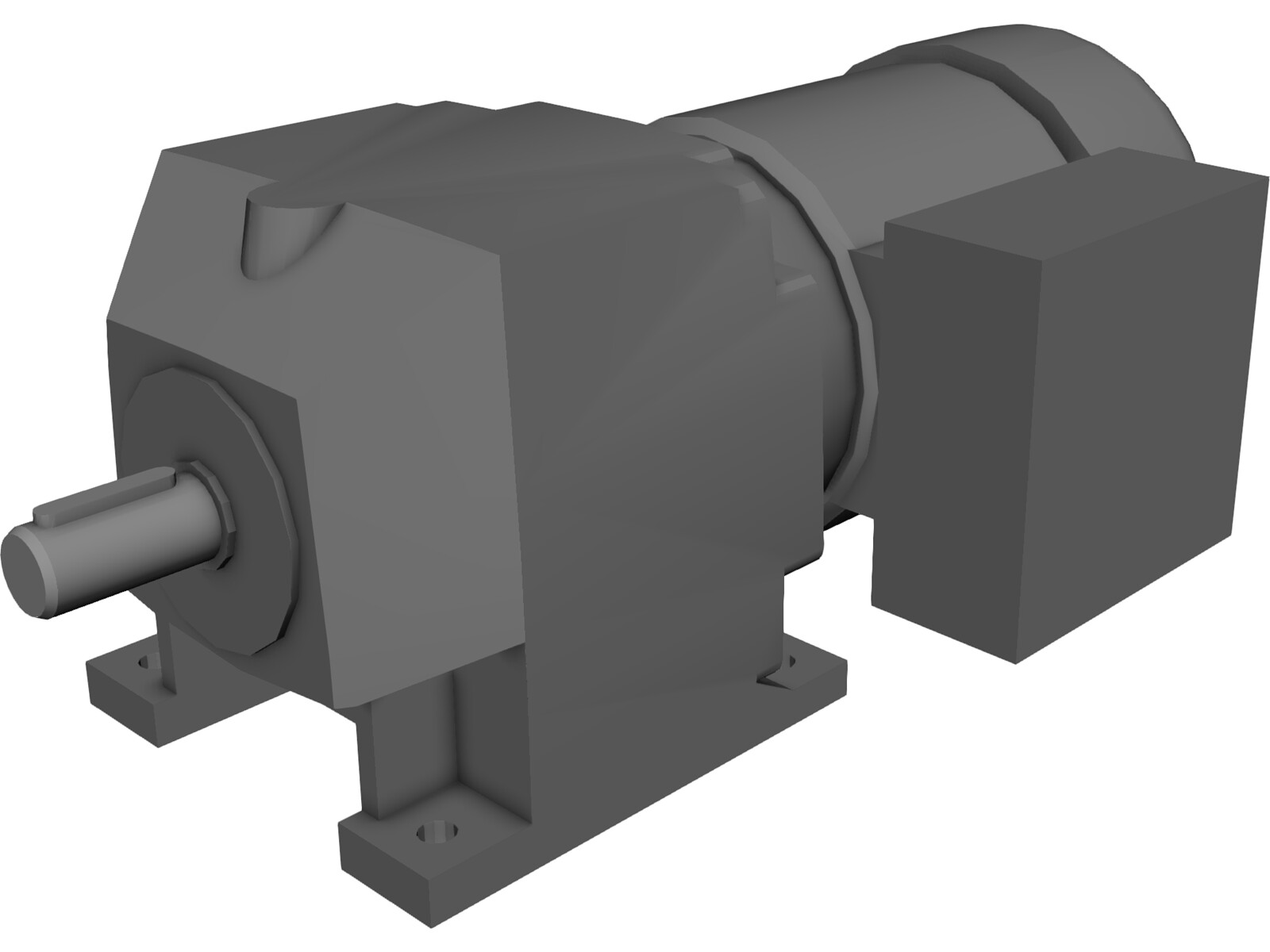 nord gear motor sk172 63s 3d model 3d cad browser